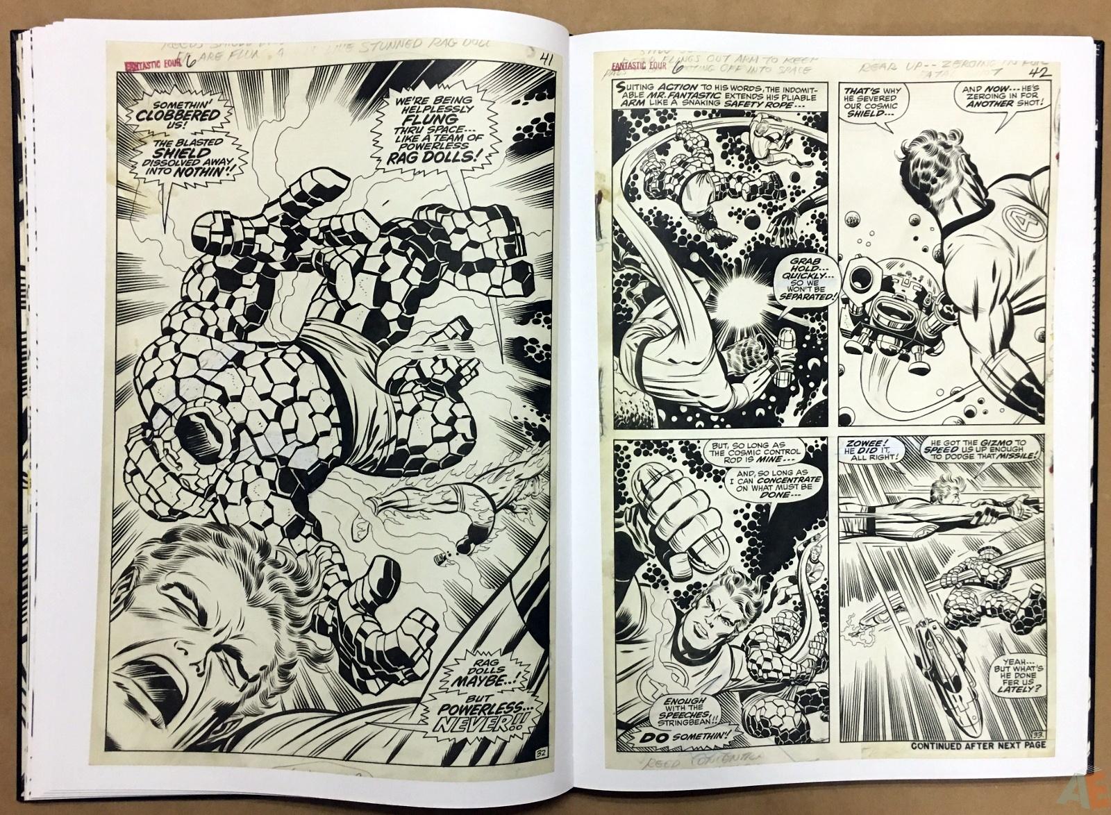 Jack Kirby's Fantastic Four Artist's Edition 22