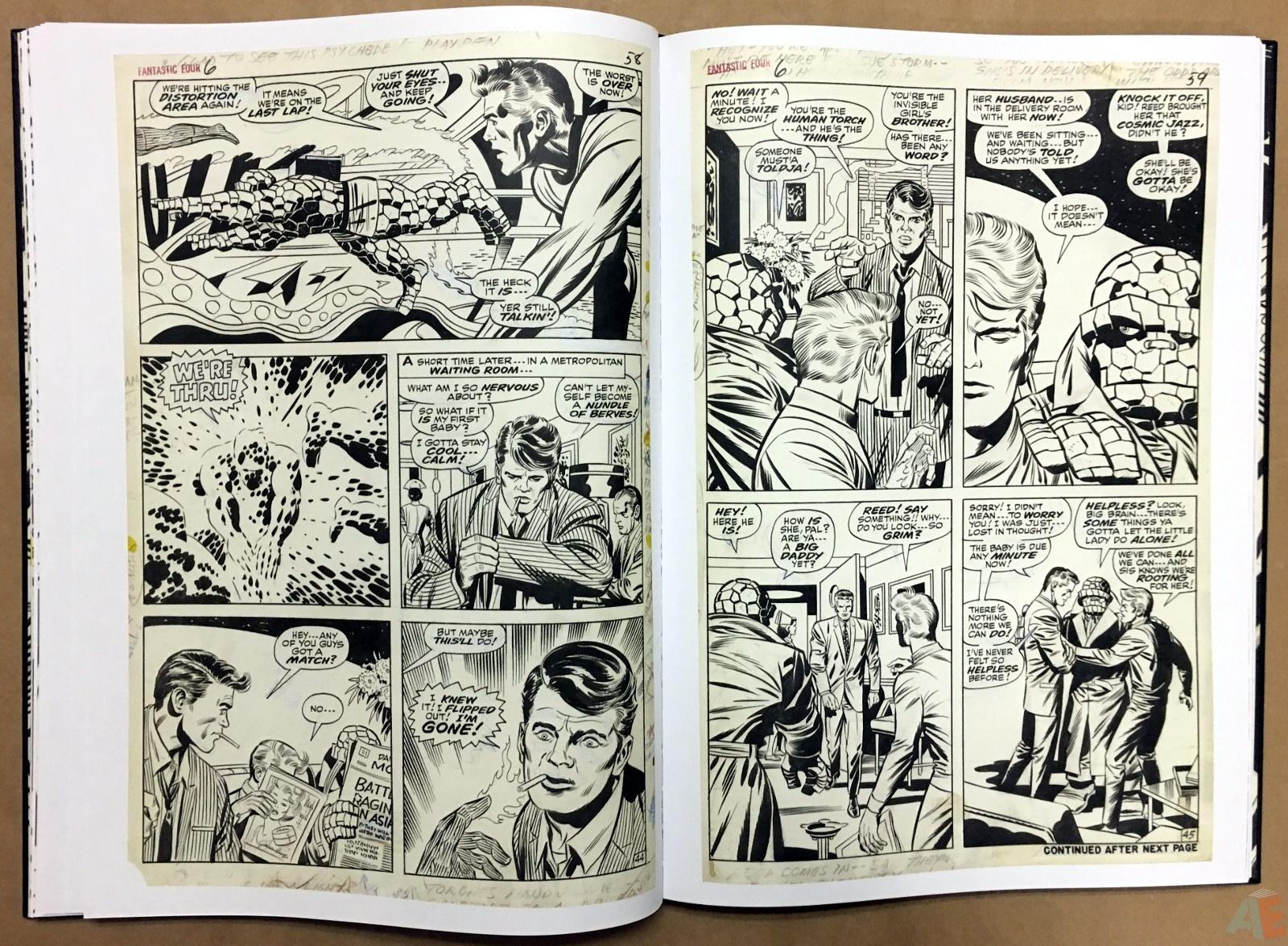 Jack Kirby's Fantastic Four Artist's Edition 24