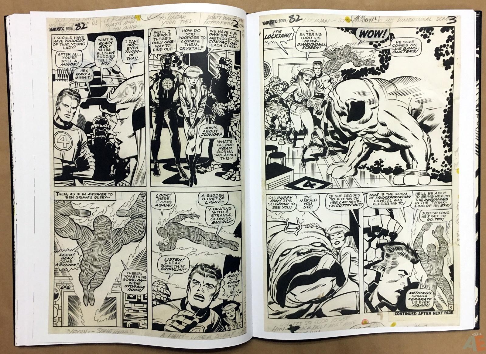 Jack Kirby's Fantastic Four Artist's Edition 26