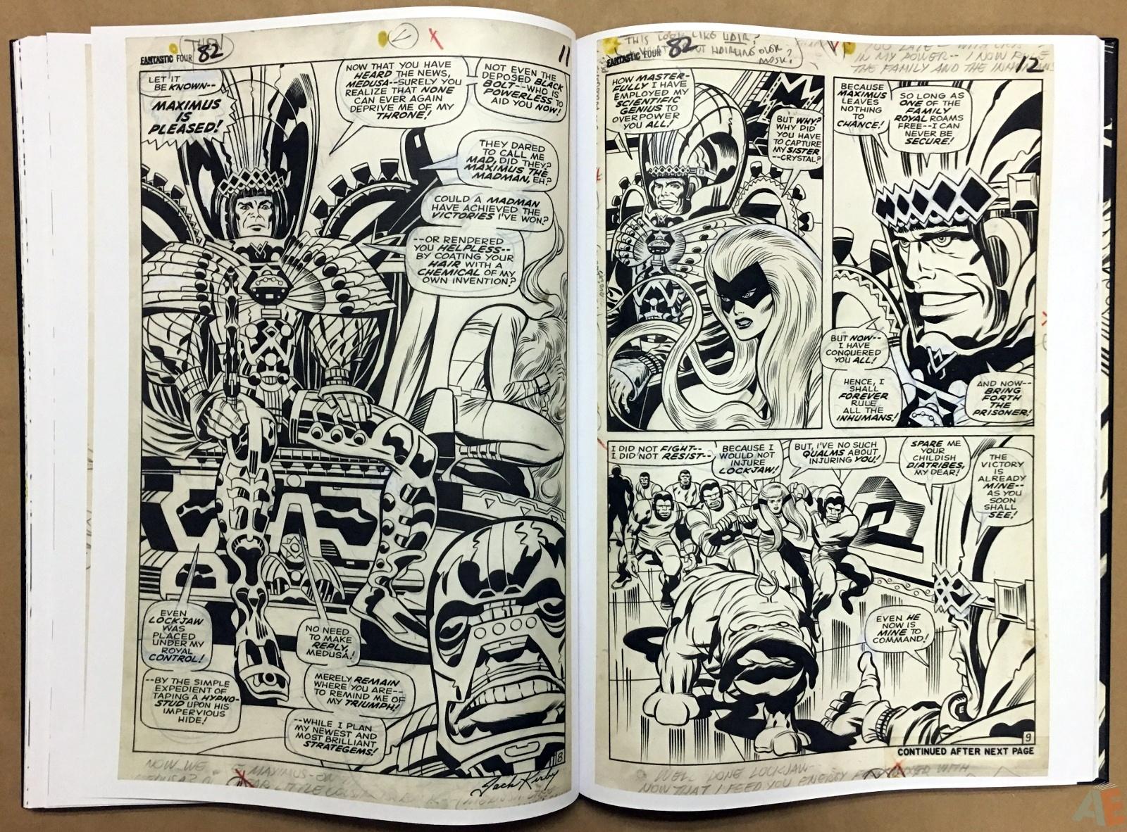 Jack Kirby's Fantastic Four Artist's Edition 28