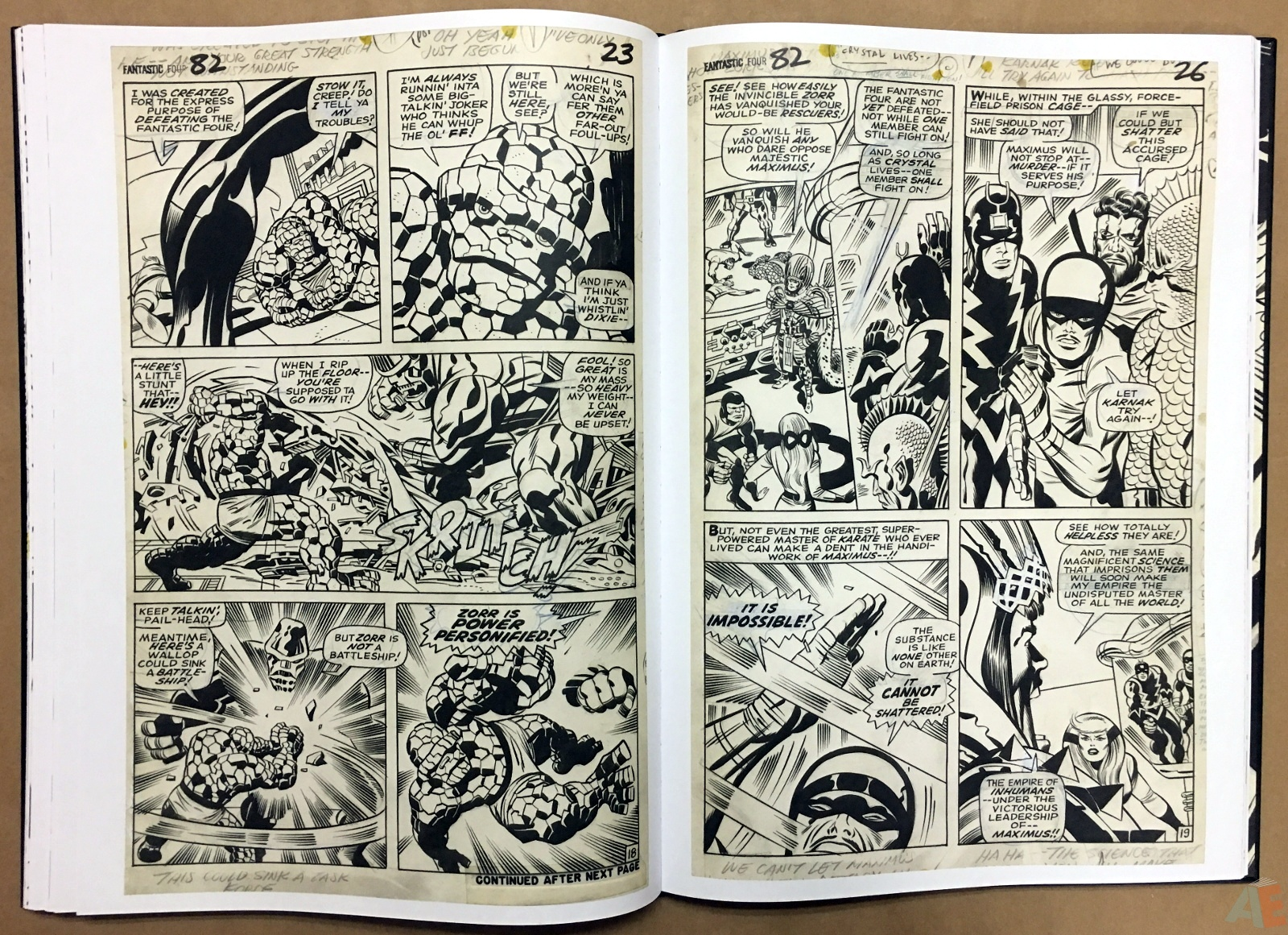 Jack Kirby's Fantastic Four Artist's Edition 30