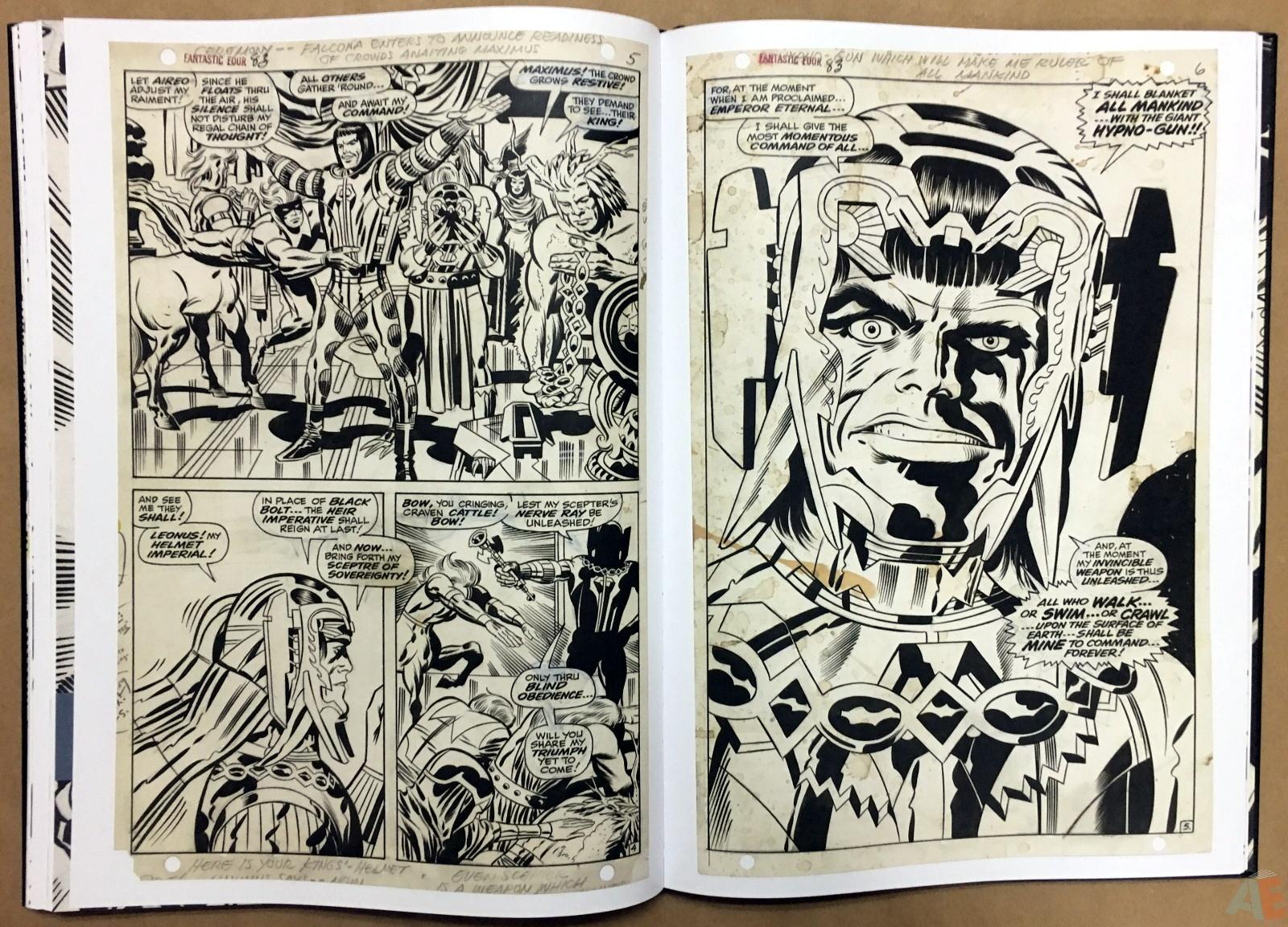 Jack Kirby's Fantastic Four Artist's Edition 32