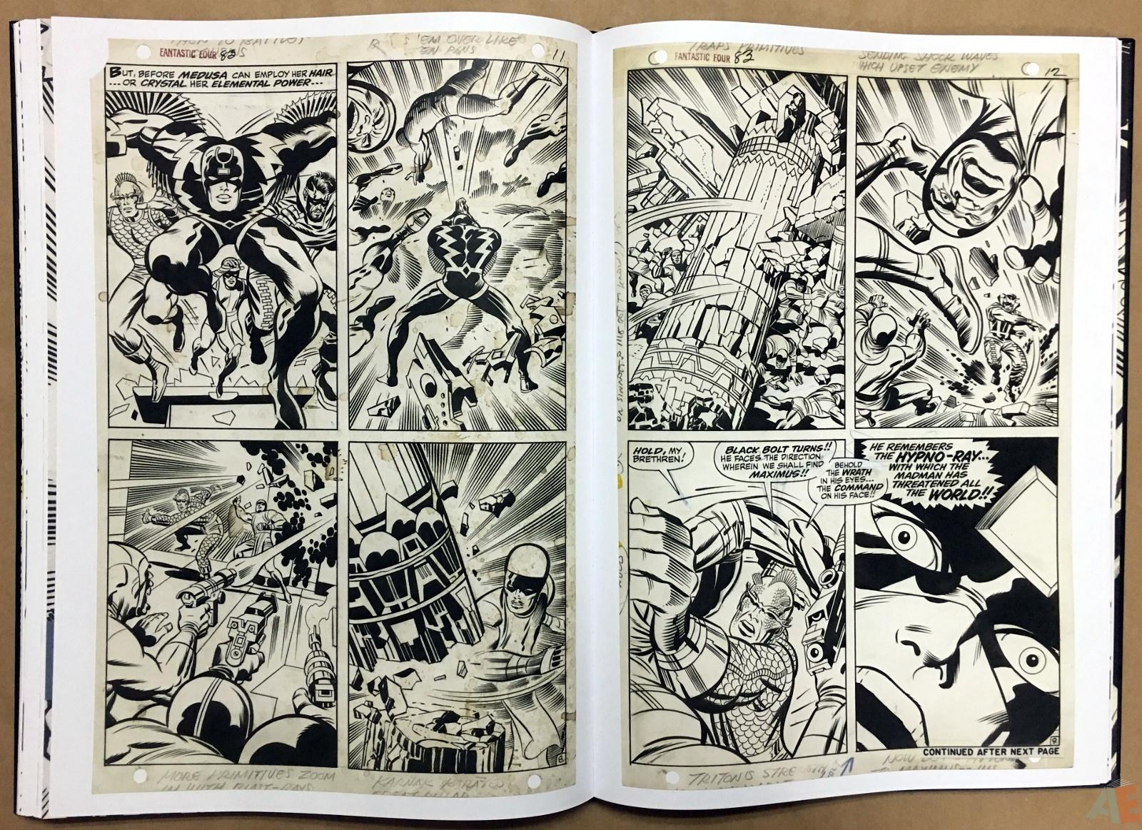 Jack Kirby's Fantastic Four Artist's Edition 34