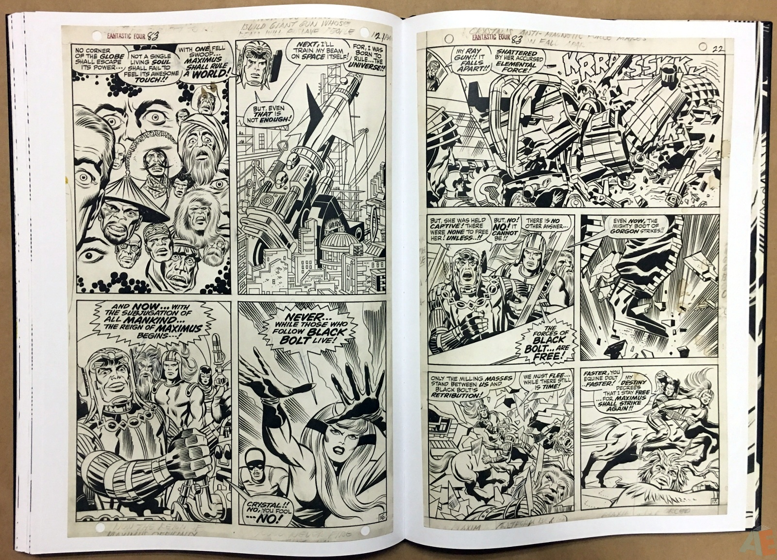 Jack Kirby's Fantastic Four Artist's Edition 36