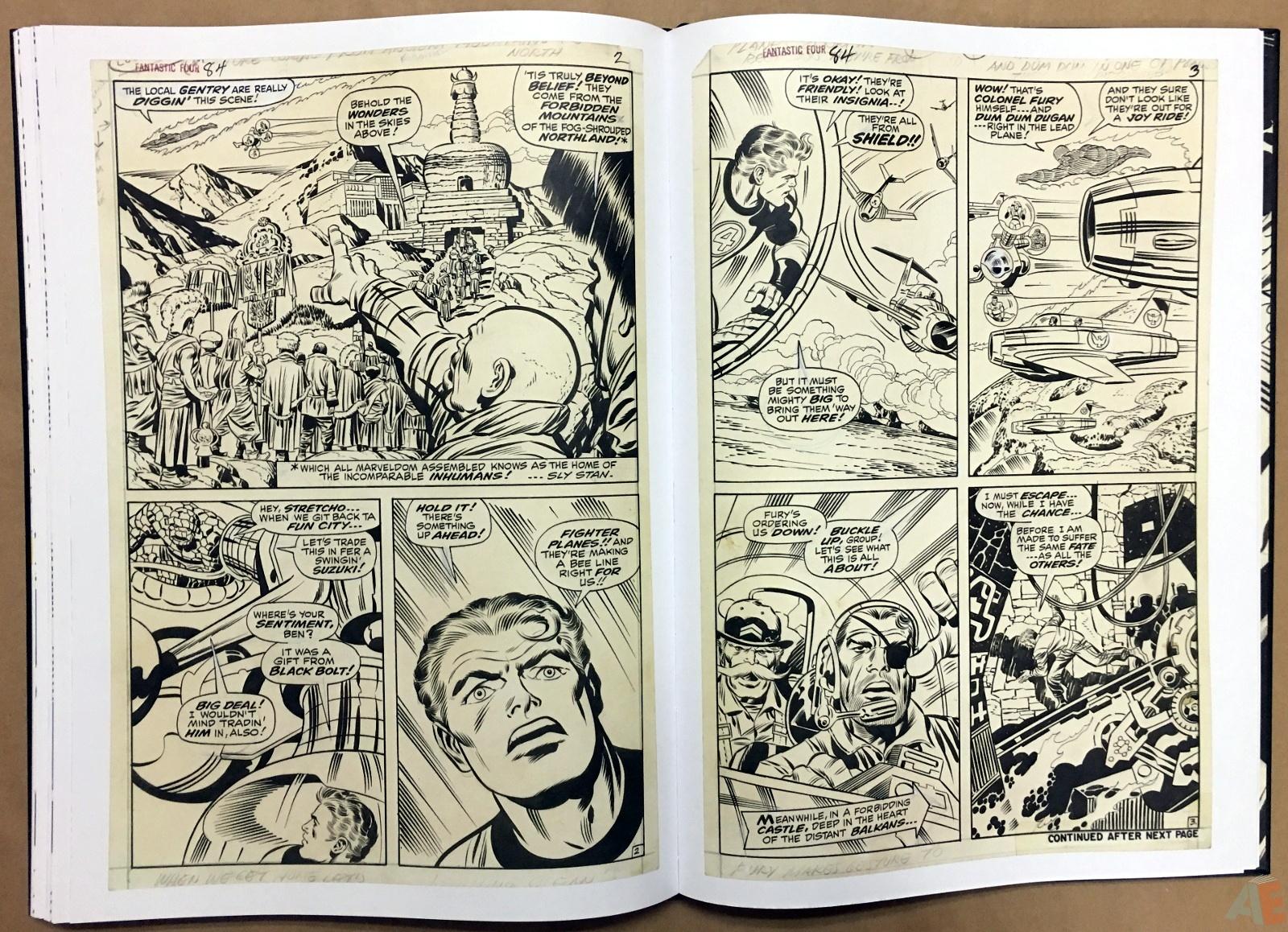 Jack Kirby's Fantastic Four Artist's Edition 38