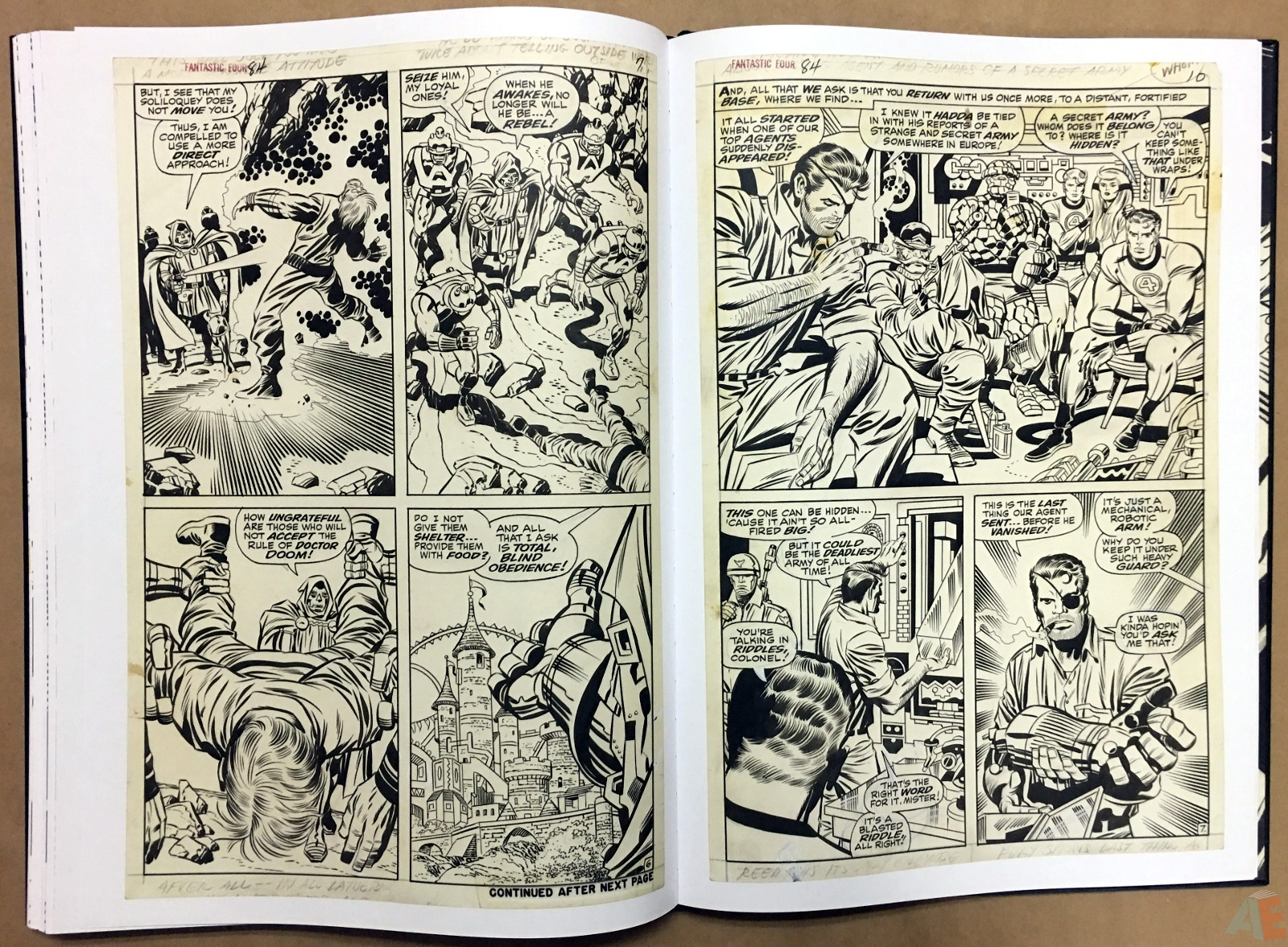 Jack Kirby's Fantastic Four Artist's Edition 40