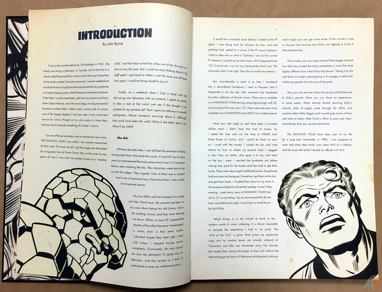 Jack Kirby's Fantastic Four Artist's Edition 6