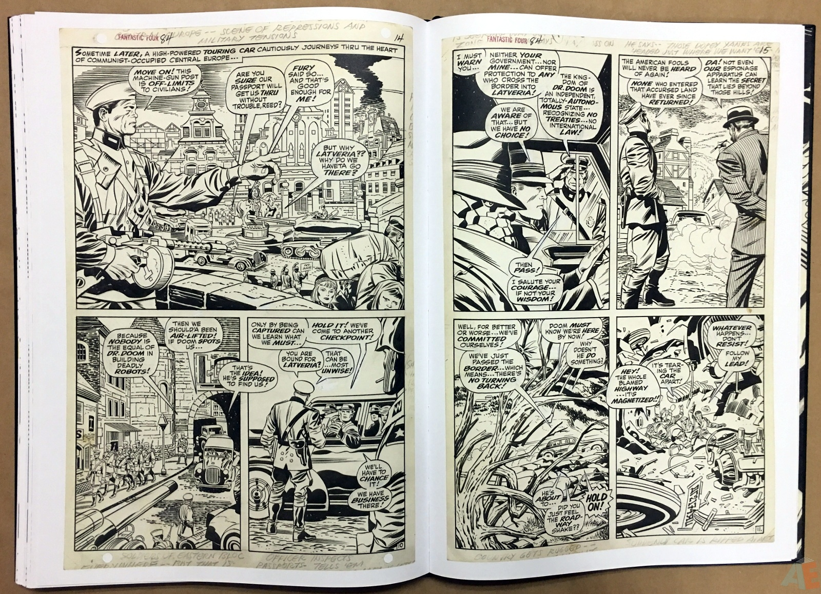 Jack Kirby's Fantastic Four Artist's Edition 42