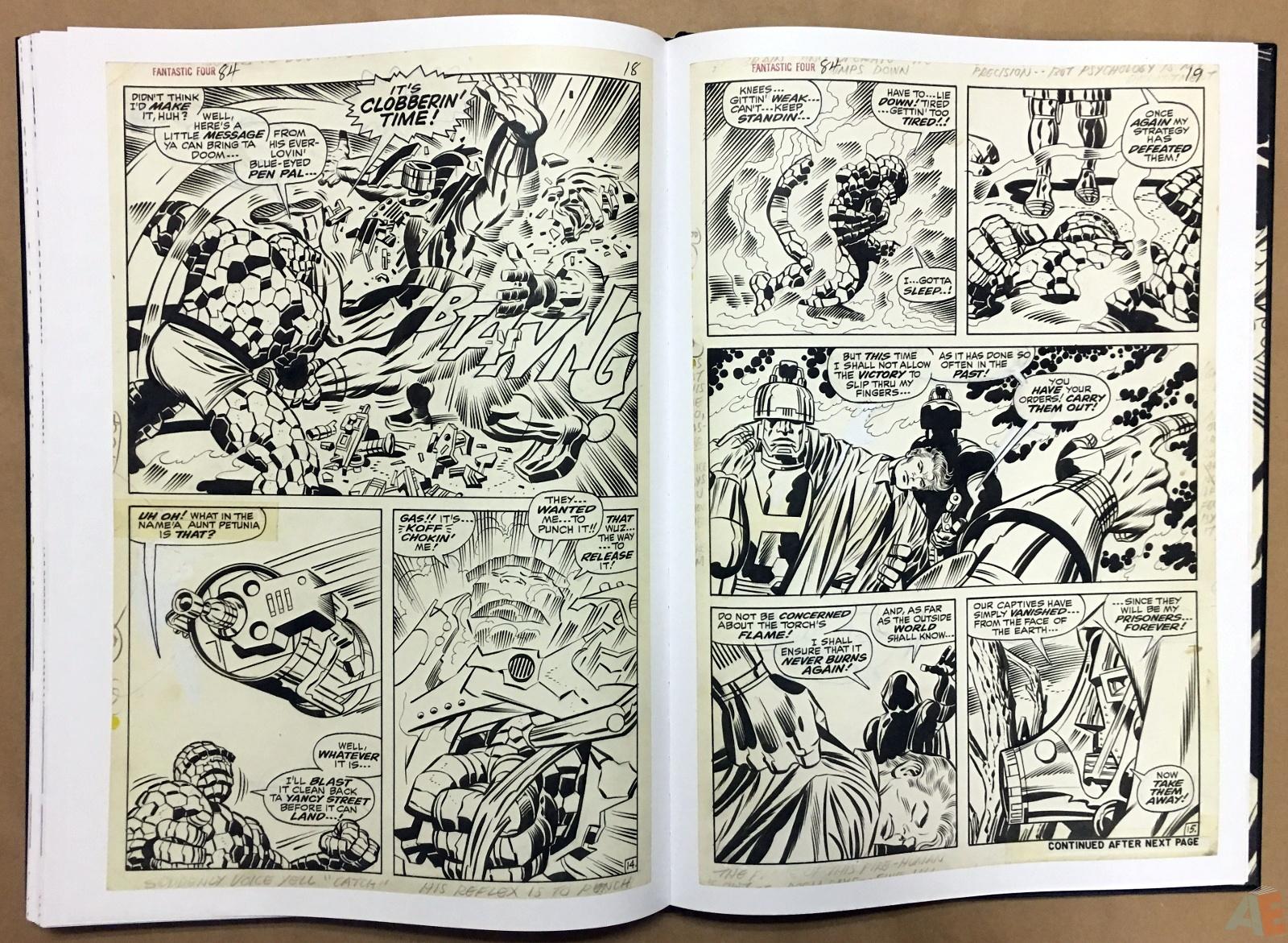 Jack Kirby's Fantastic Four Artist's Edition 44