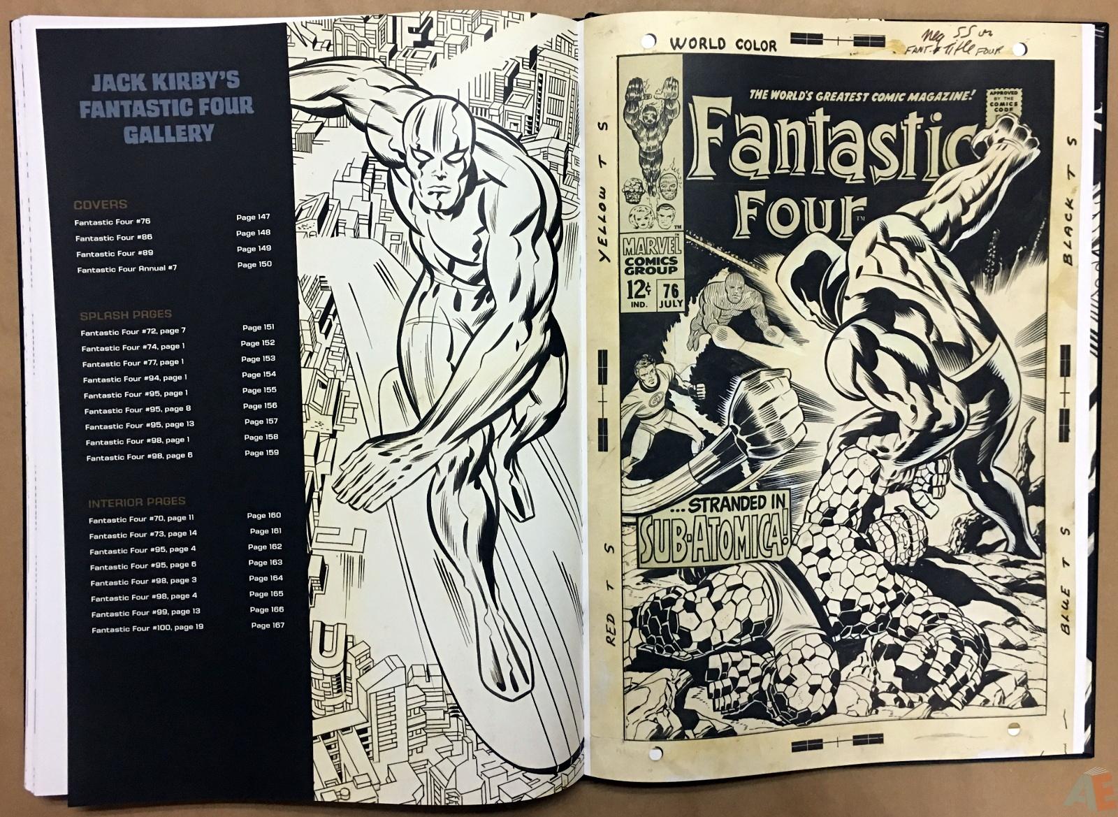 Jack Kirby's Fantastic Four Artist's Edition 46