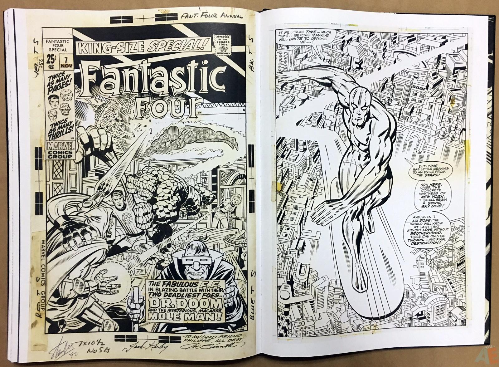 Jack Kirby's Fantastic Four Artist's Edition 48