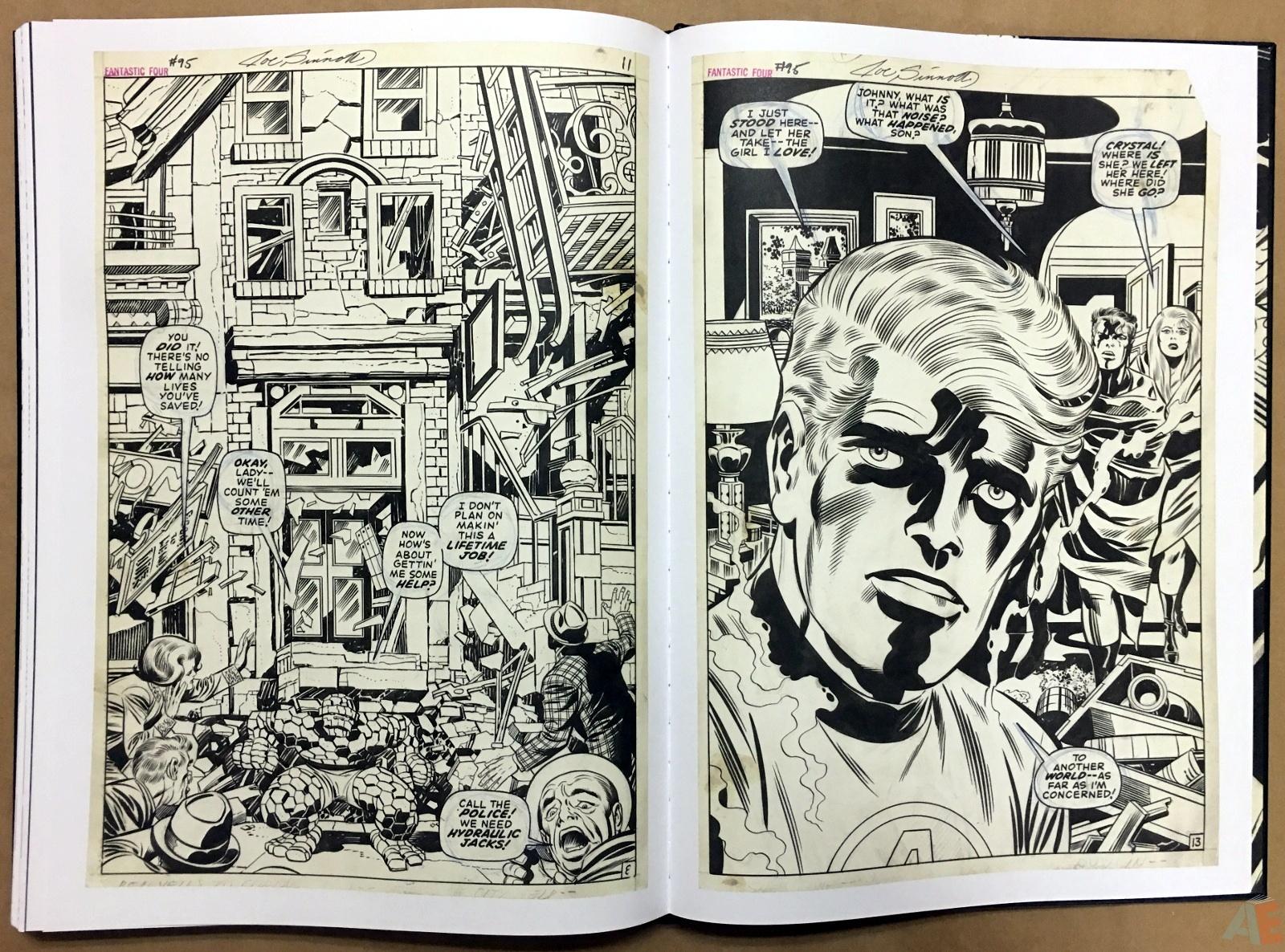 Jack Kirby's Fantastic Four Artist's Edition 52