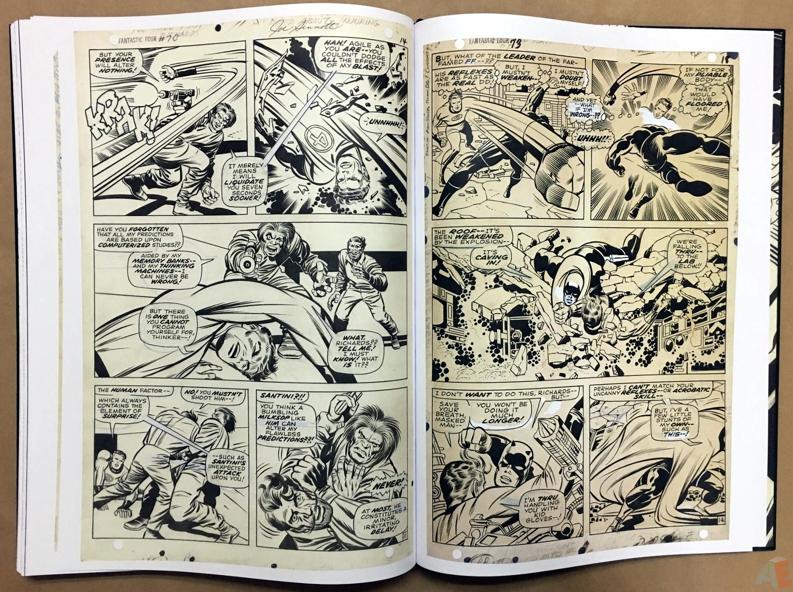 Jack Kirby's Fantastic Four Artist's Edition 54