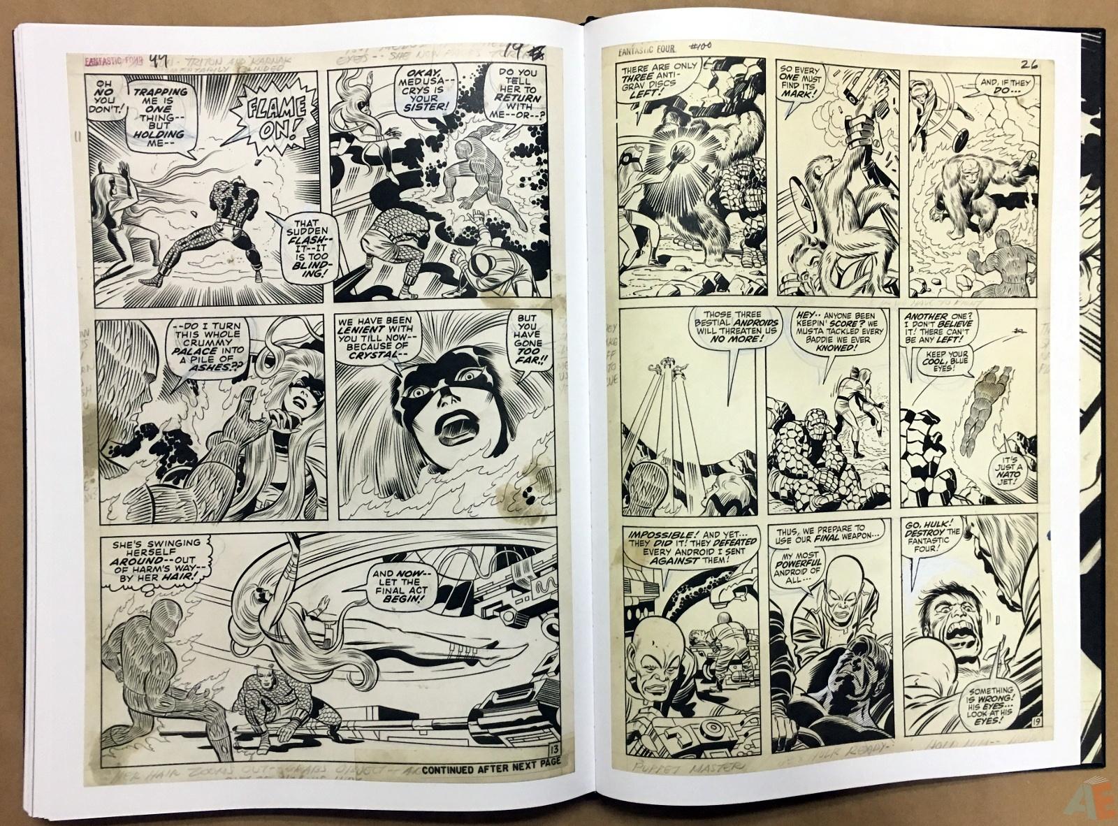 Jack Kirby's Fantastic Four Artist's Edition 56