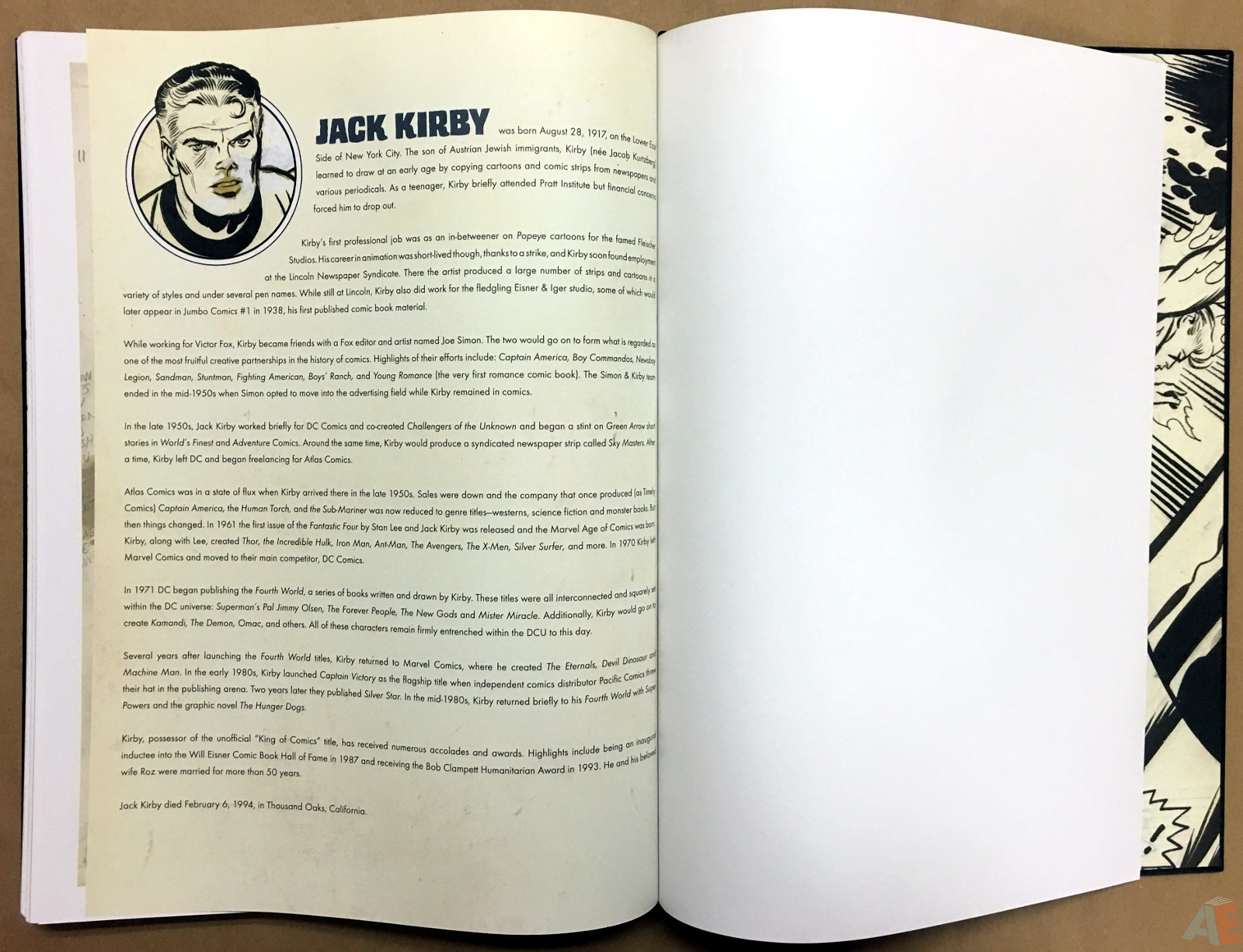 Jack Kirby's Fantastic Four Artist's Edition 58