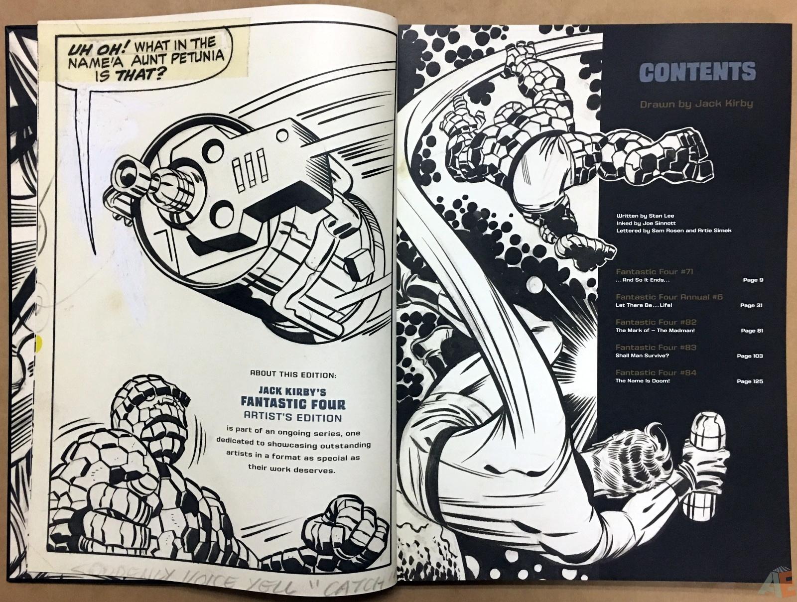 Jack Kirby's Fantastic Four Artist's Edition 8
