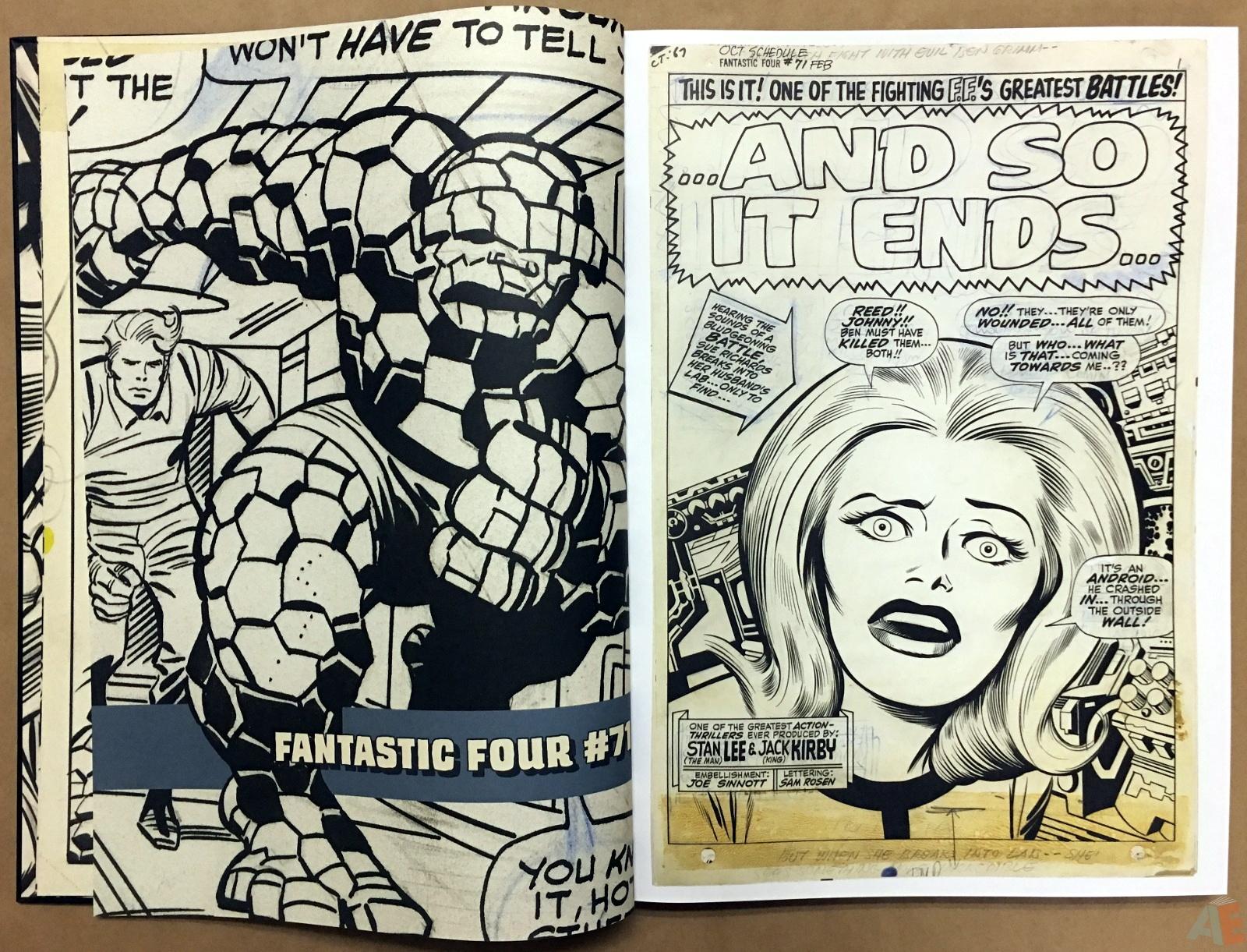 Jack Kirby's Fantastic Four Artist's Edition 10