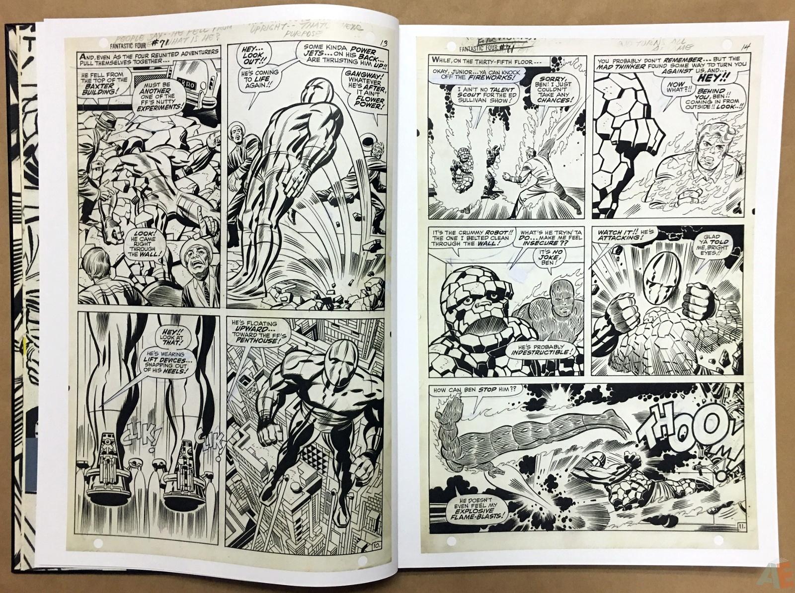 Jack Kirby's Fantastic Four Artist's Edition 12