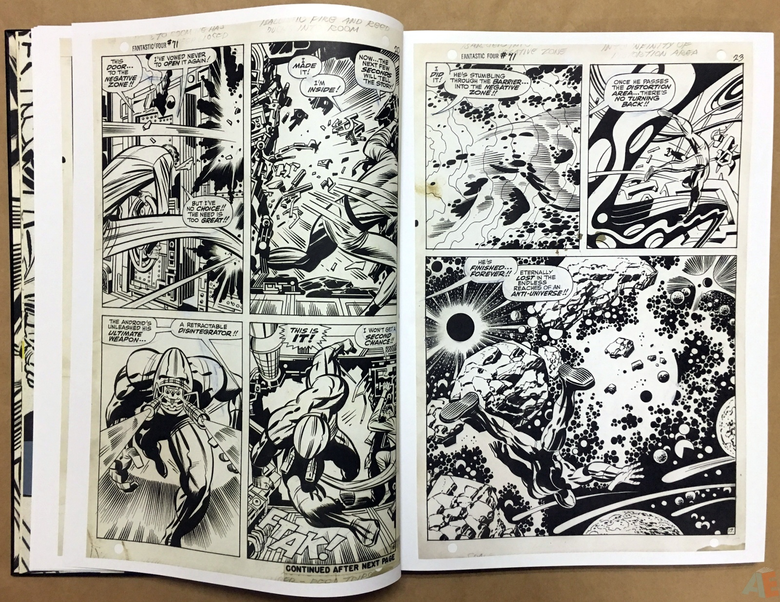 Jack Kirby's Fantastic Four Artist's Edition 14