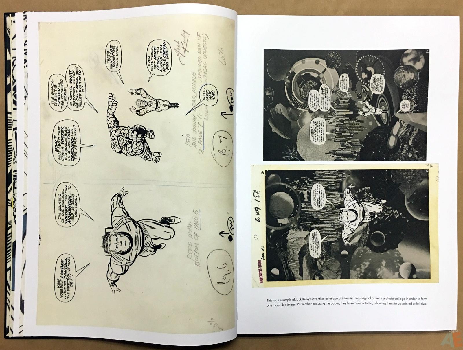 Jack Kirby's Fantastic Four Artist's Edition 16