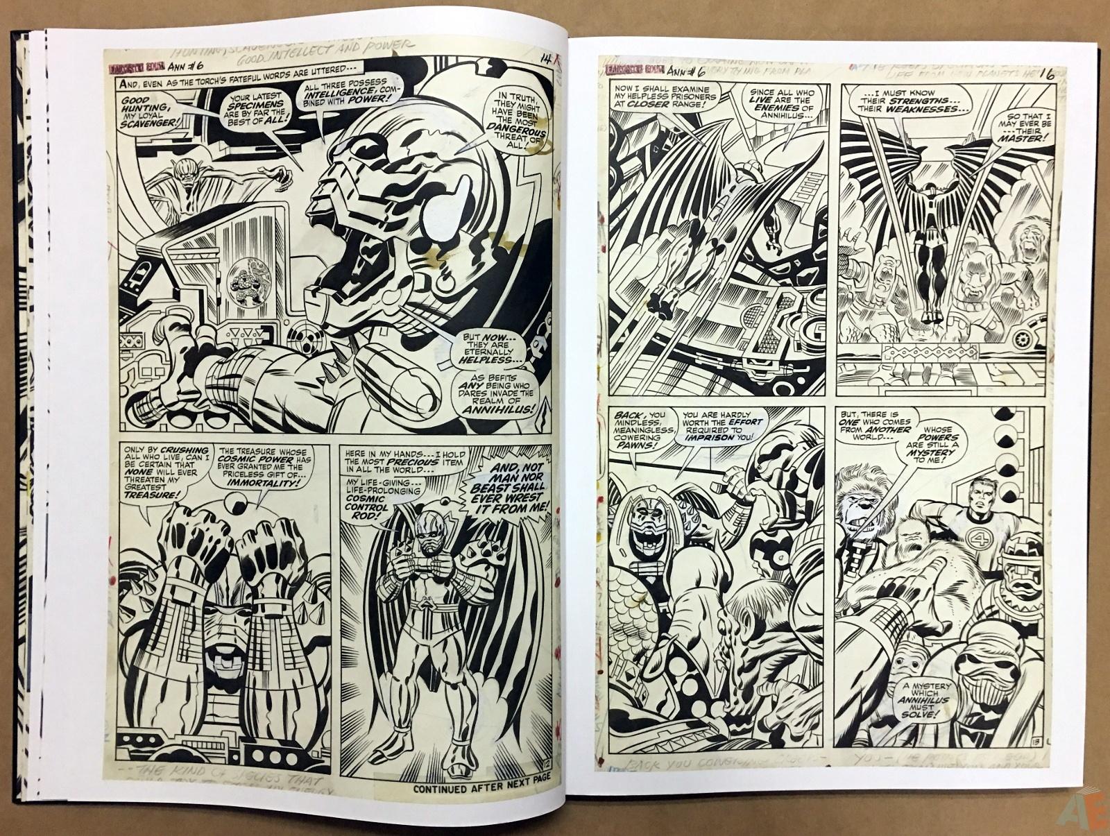 Jack Kirby's Fantastic Four Artist's Edition 18
