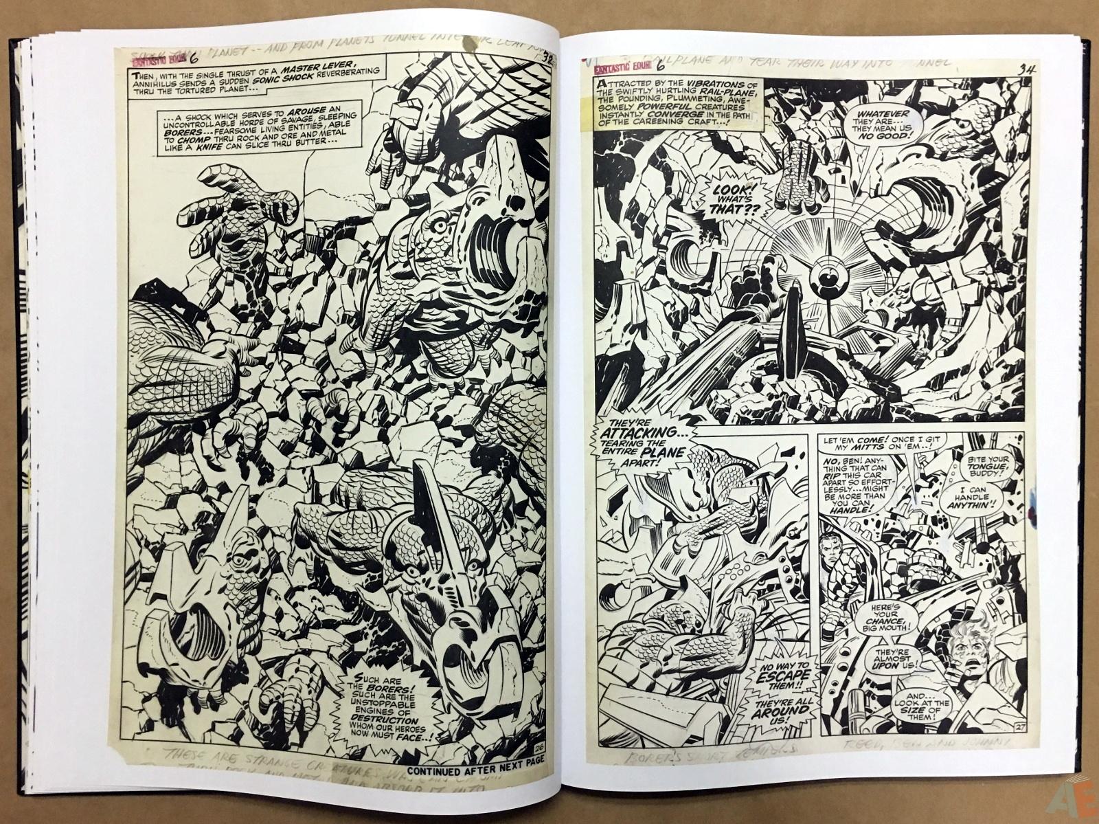 Jack Kirby's Fantastic Four Artist's Edition 20