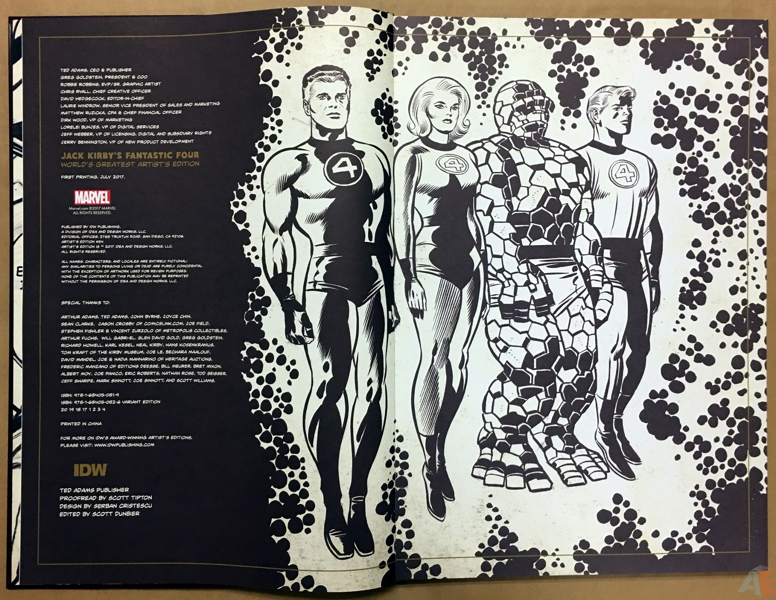 Jack Kirby's Fantastic Four The World's Greatest Artist's Edition 4