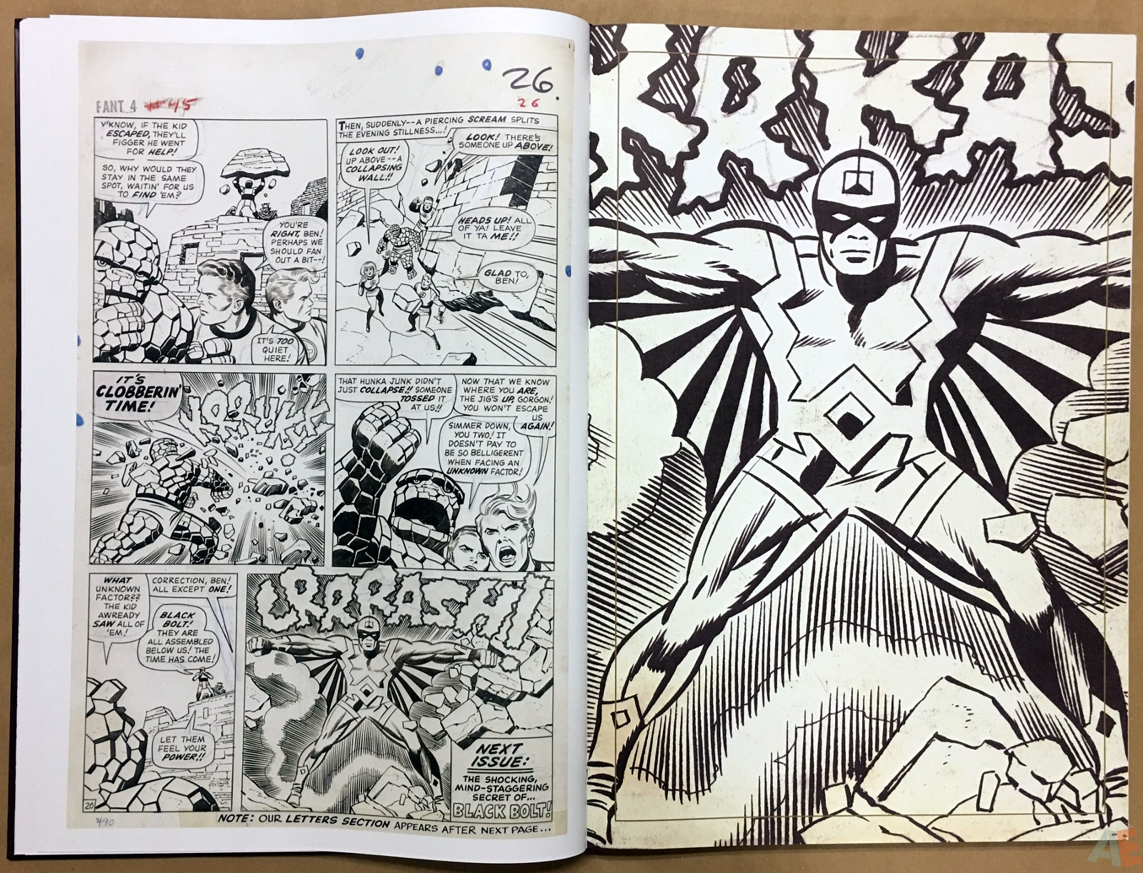 Jack Kirby's Fantastic Four The World's Greatest Artist's Edition 22