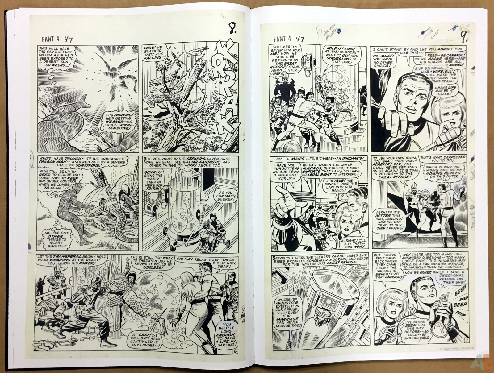 Jack Kirby's Fantastic Four The World's Greatest Artist's Edition 24