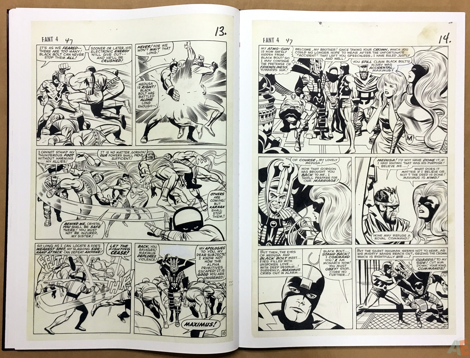 Jack Kirby's Fantastic Four The World's Greatest Artist's Edition 26