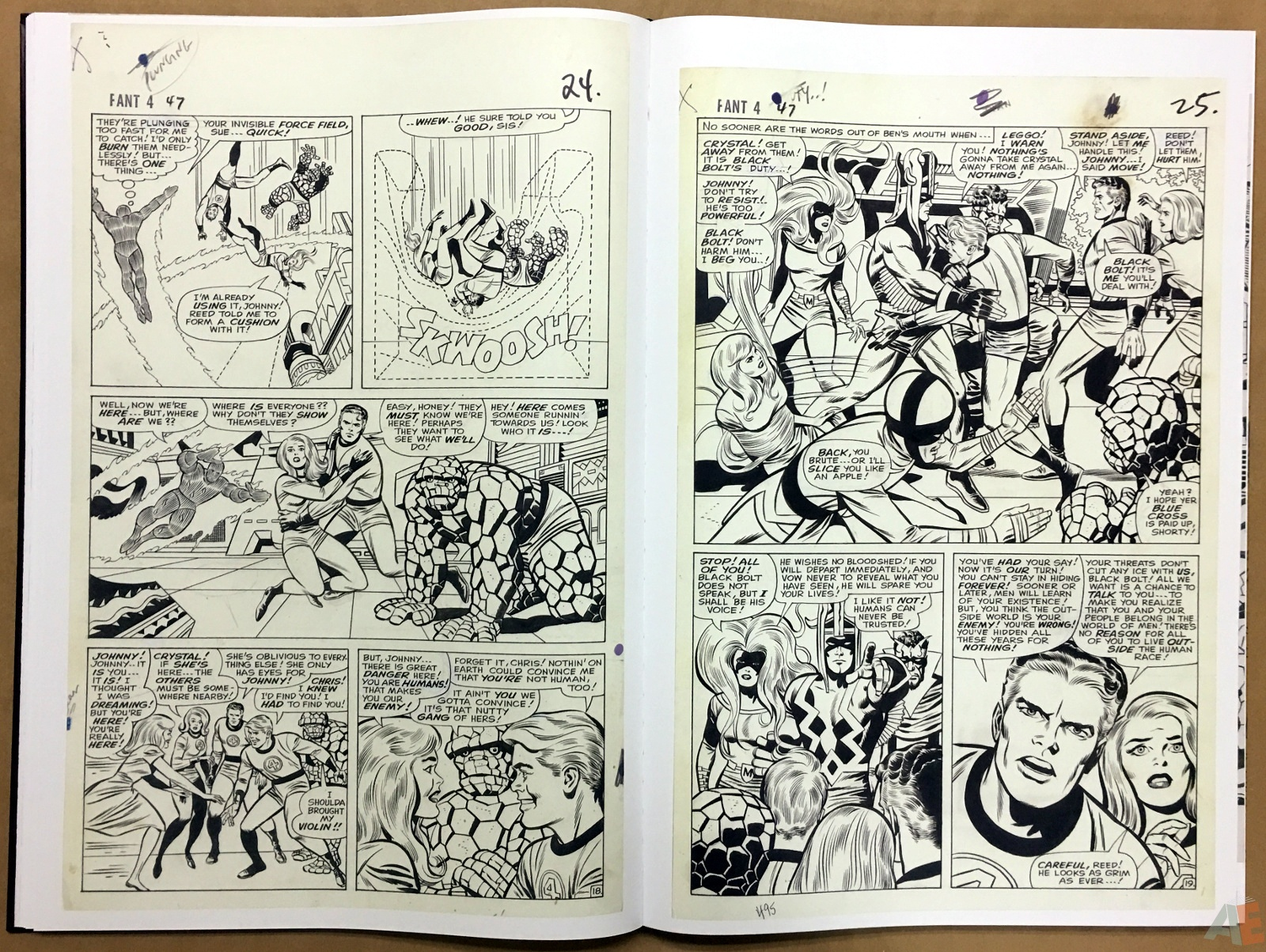 Jack Kirby's Fantastic Four The World's Greatest Artist's Edition 28