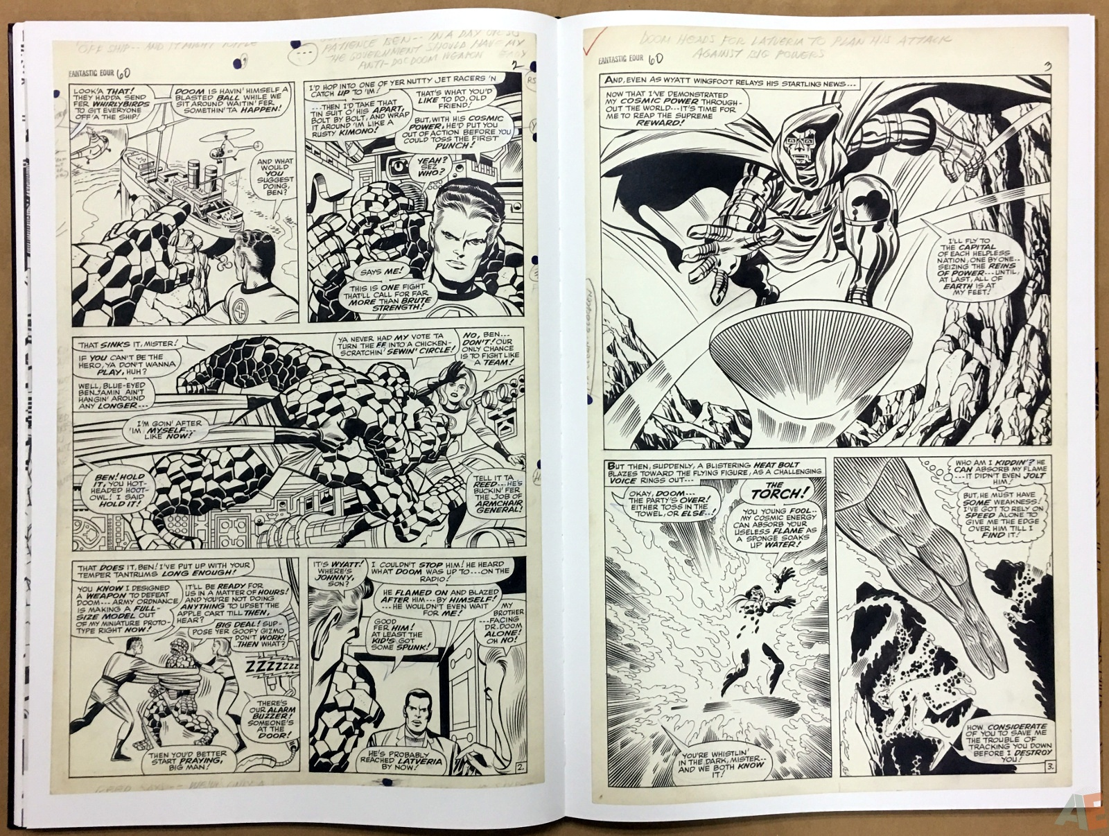 Jack Kirby's Fantastic Four The World's Greatest Artist's Edition 32