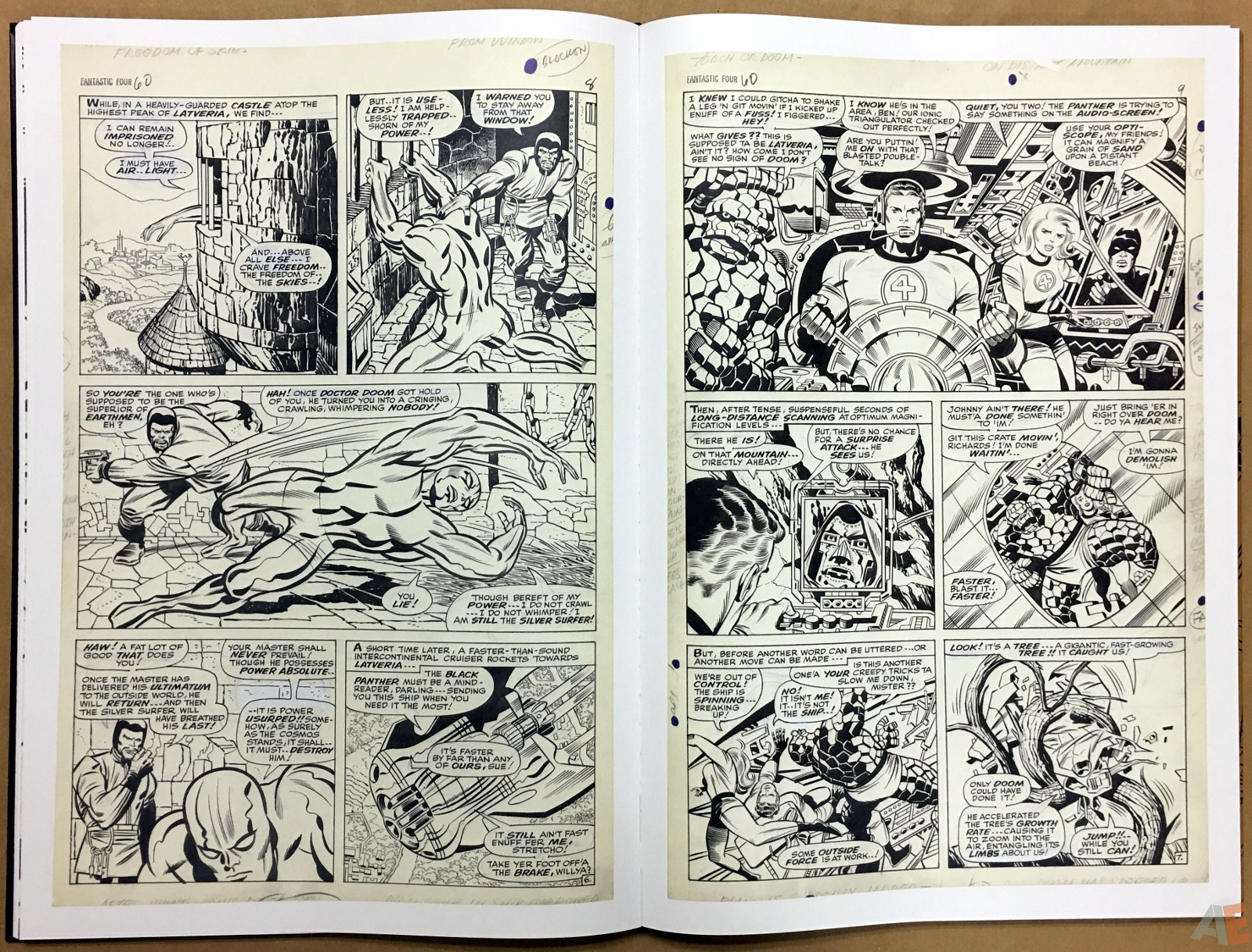 Jack Kirby's Fantastic Four The World's Greatest Artist's Edition 34