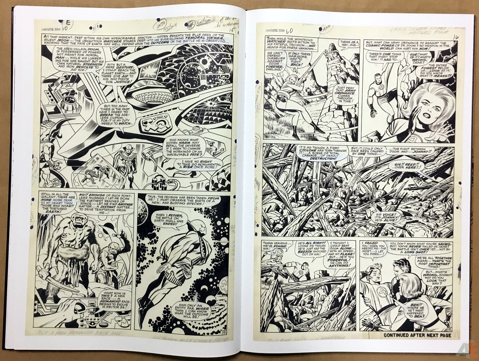 Jack Kirby's Fantastic Four The World's Greatest Artist's Edition 36