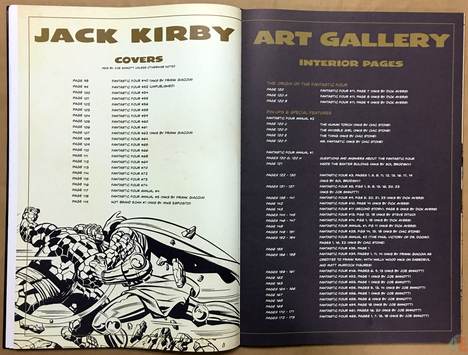 Jack Kirby's Fantastic Four The World's Greatest Artist's Edition 38