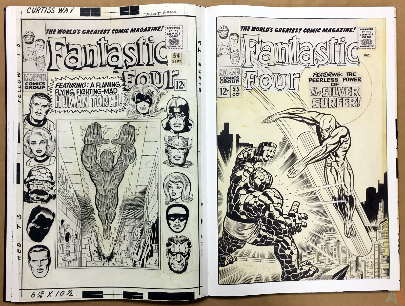 Jack Kirby's Fantastic Four The World's Greatest Artist's Edition 40