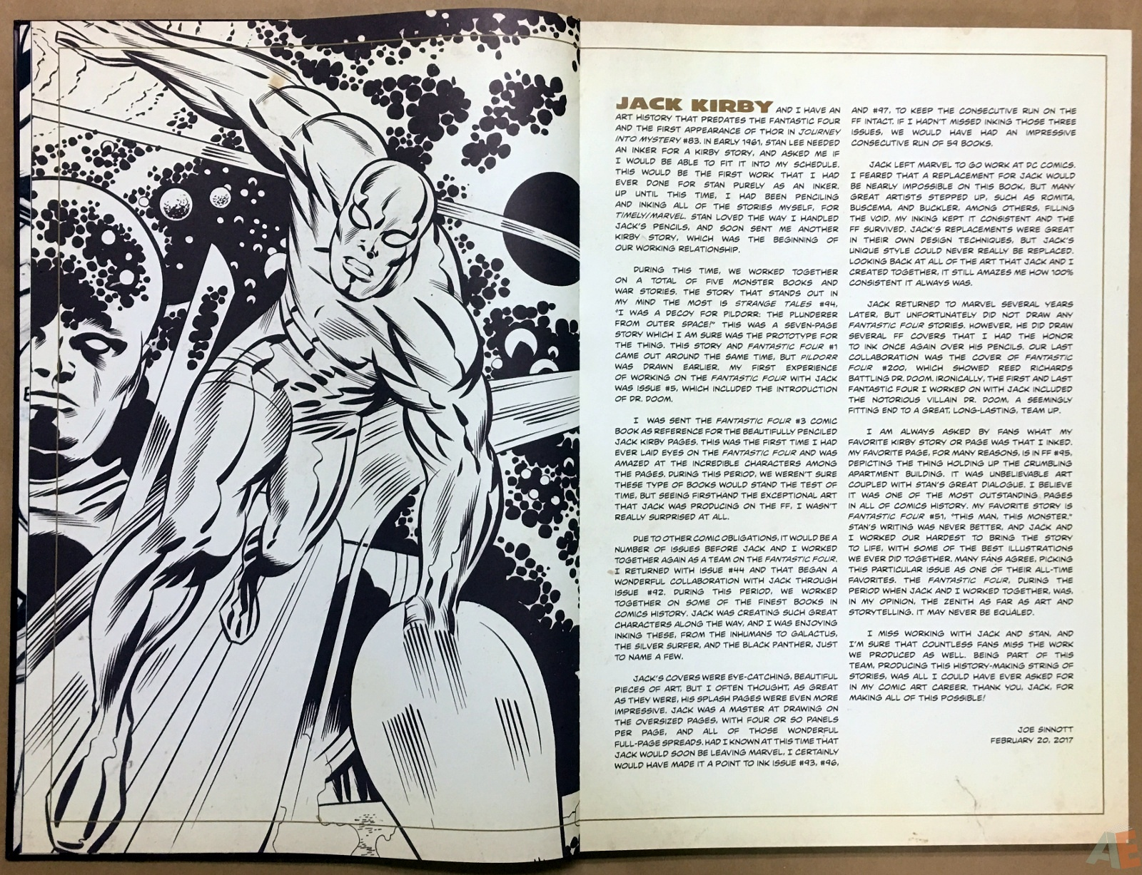 Jack Kirby's Fantastic Four The World's Greatest Artist's Edition 6