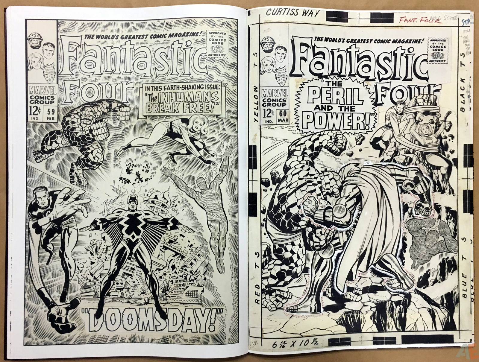 Jack Kirby's Fantastic Four The World's Greatest Artist's Edition 42