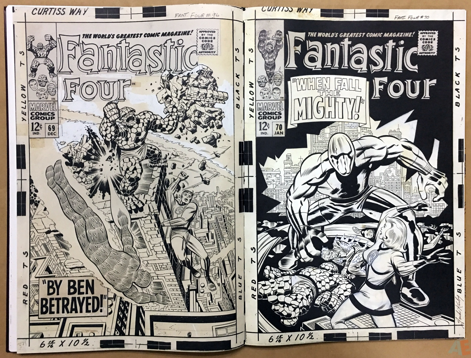 Jack Kirby's Fantastic Four The World's Greatest Artist's Edition 44