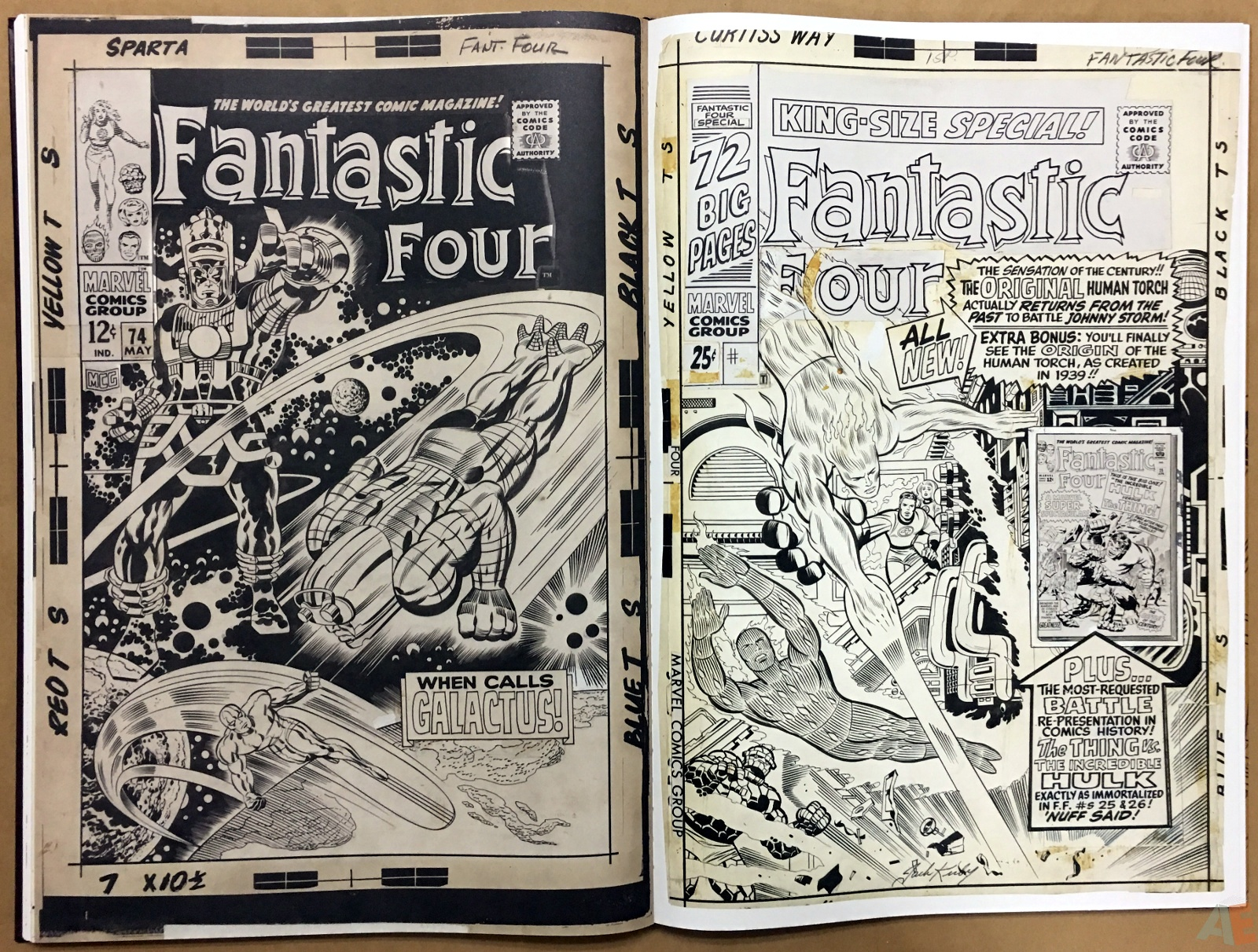 Jack Kirby's Fantastic Four The World's Greatest Artist's Edition 46
