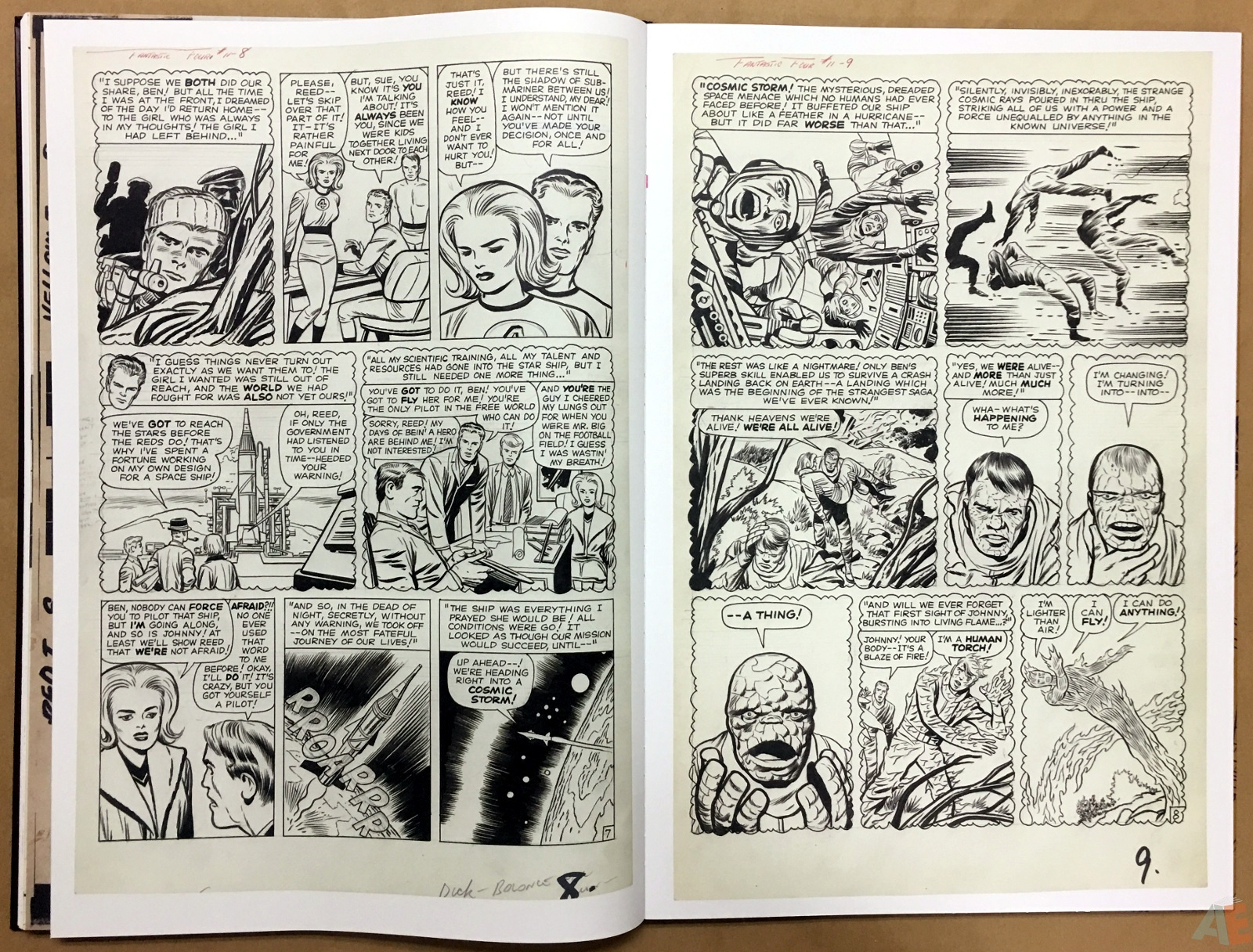 Jack Kirby's Fantastic Four The World's Greatest Artist's Edition 48