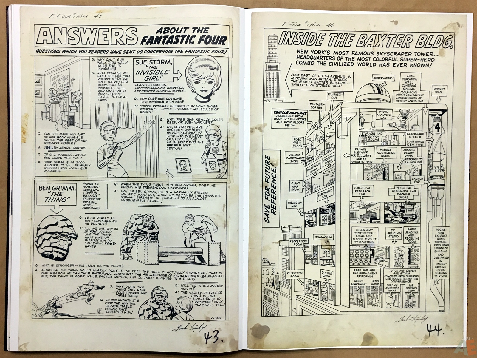 Jack Kirby's Fantastic Four The World's Greatest Artist's Edition 50