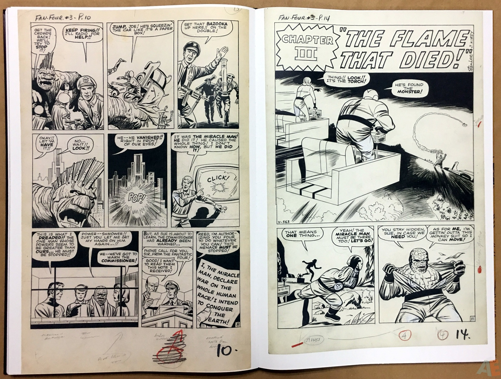 Jack Kirby's Fantastic Four The World's Greatest Artist's Edition 52