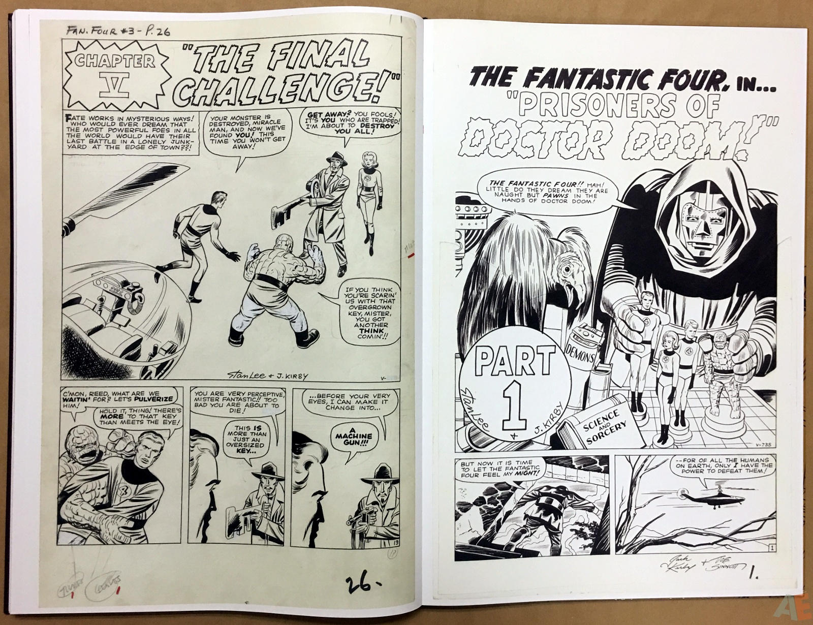 Jack Kirby's Fantastic Four The World's Greatest Artist's Edition 54