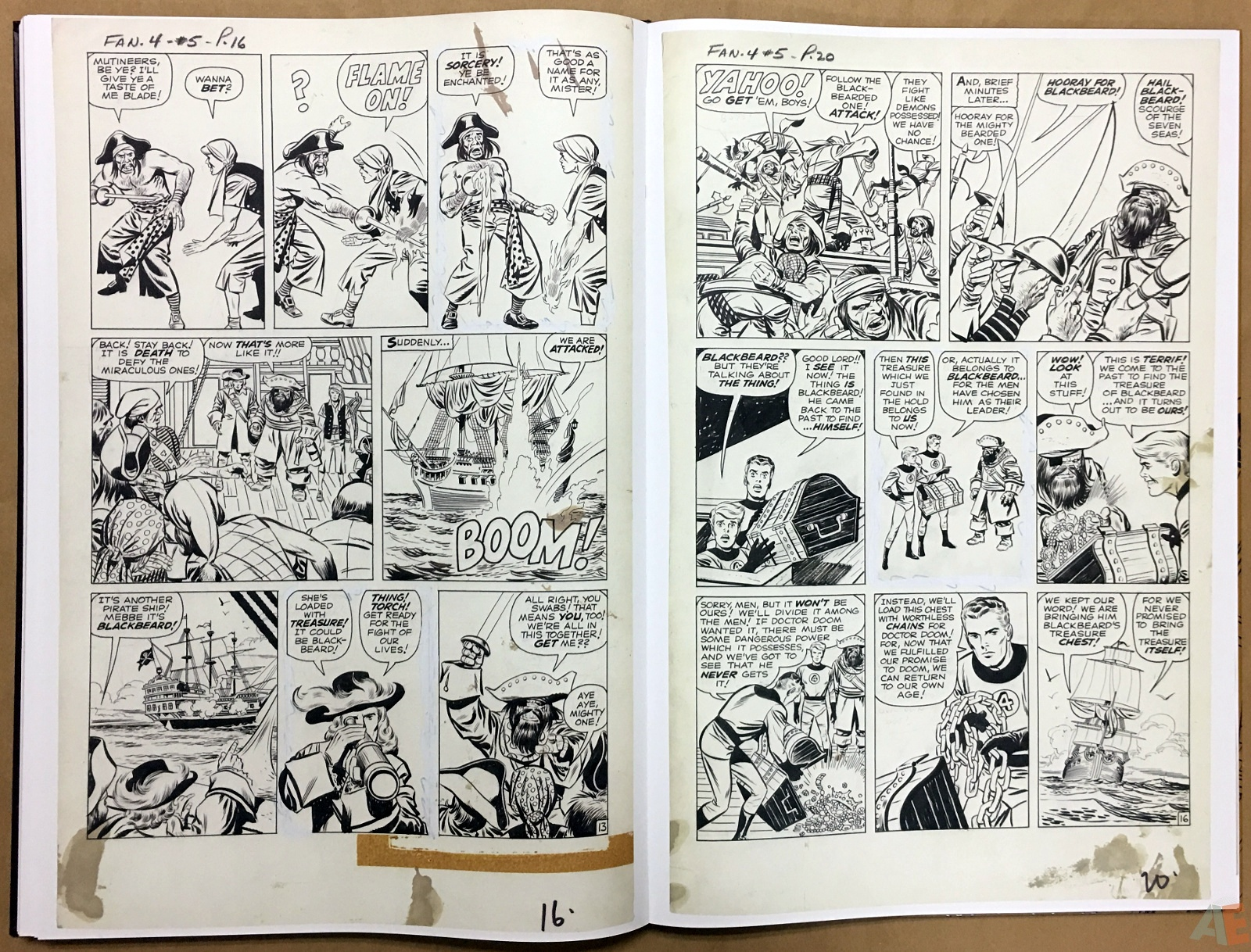 Jack Kirby's Fantastic Four The World's Greatest Artist's Edition 56