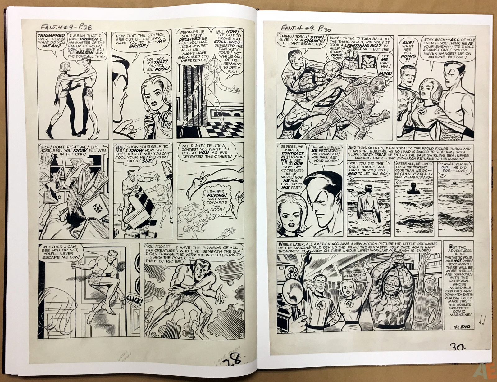 Jack Kirby's Fantastic Four The World's Greatest Artist's Edition 58