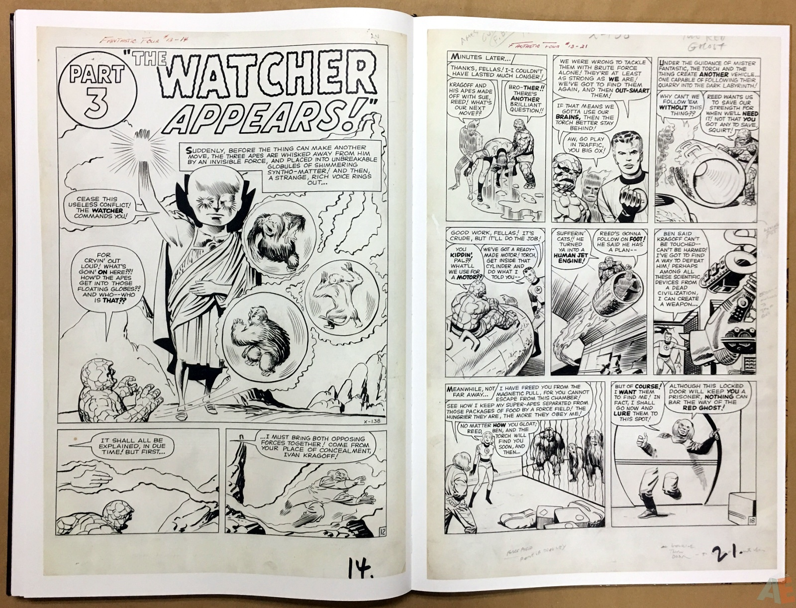 Jack Kirby's Fantastic Four The World's Greatest Artist's Edition 60