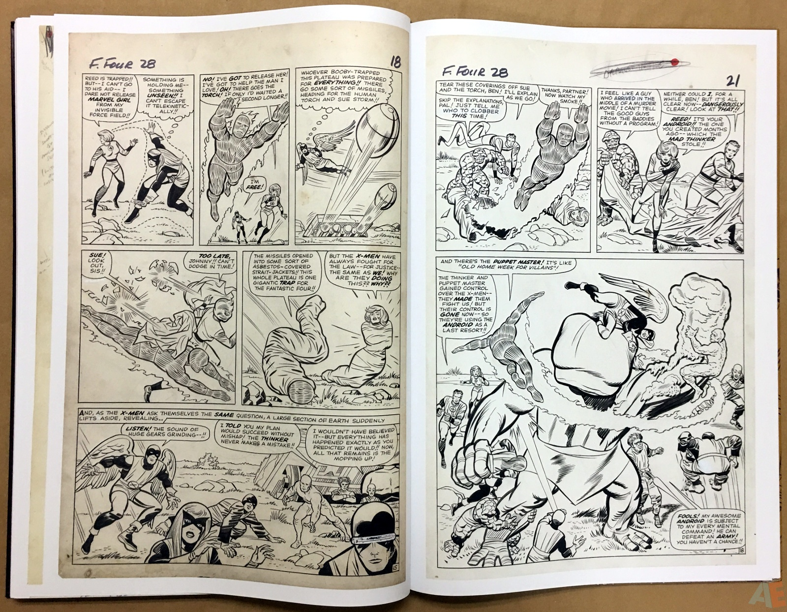 Jack Kirby's Fantastic Four The World's Greatest Artist's Edition 62
