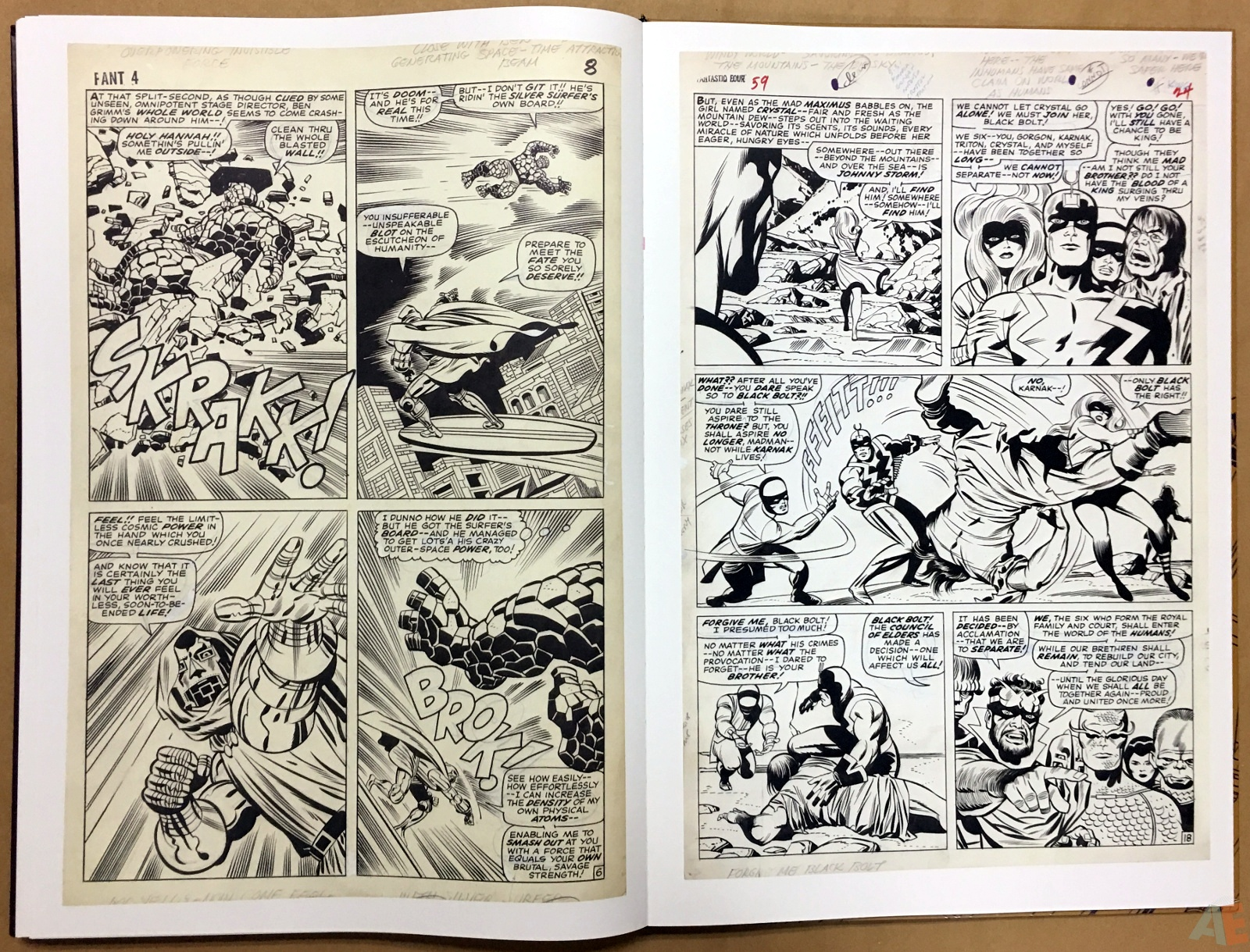 Jack Kirby's Fantastic Four The World's Greatest Artist's Edition 64