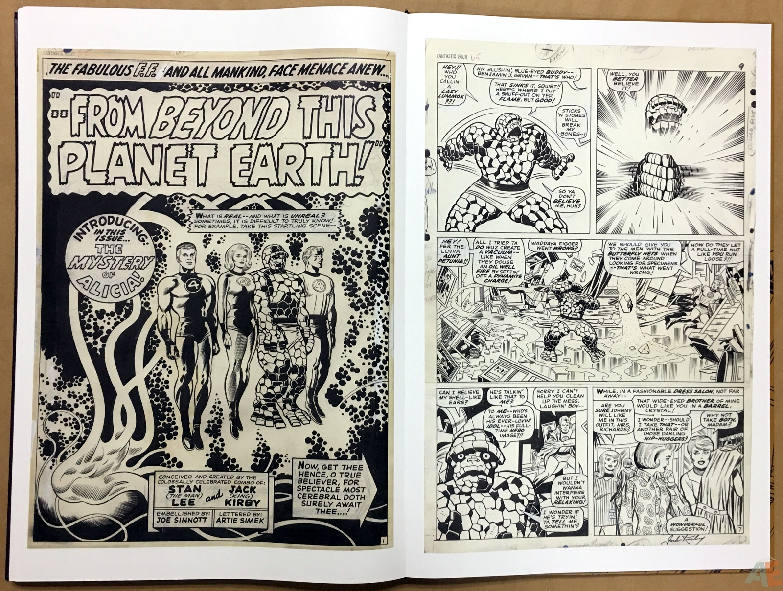 Jack Kirby's Fantastic Four The World's Greatest Artist's Edition 66